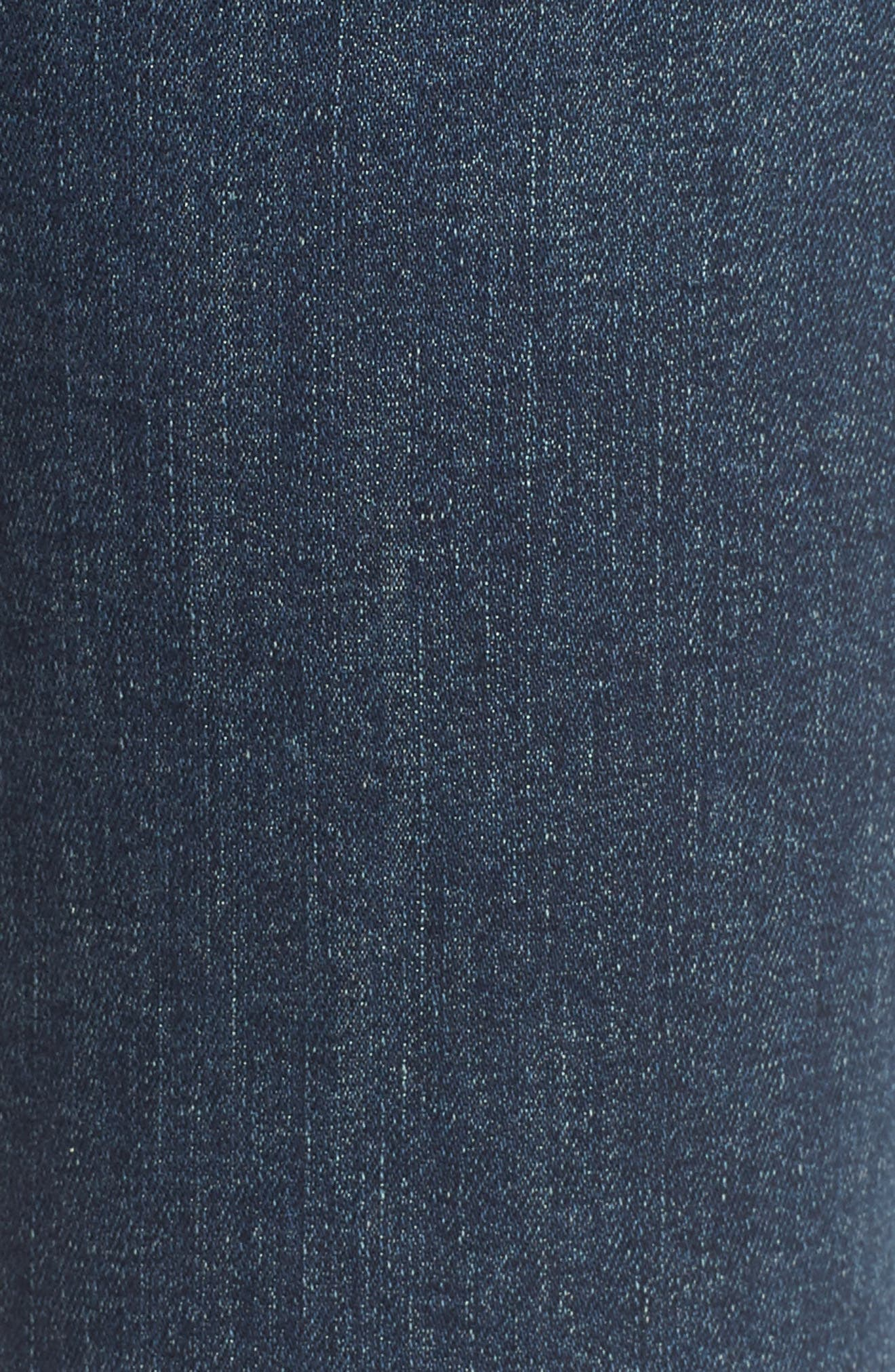 The Ponyboy Frayed Ankle Jeans,                             Alternate thumbnail 6, color,                             404