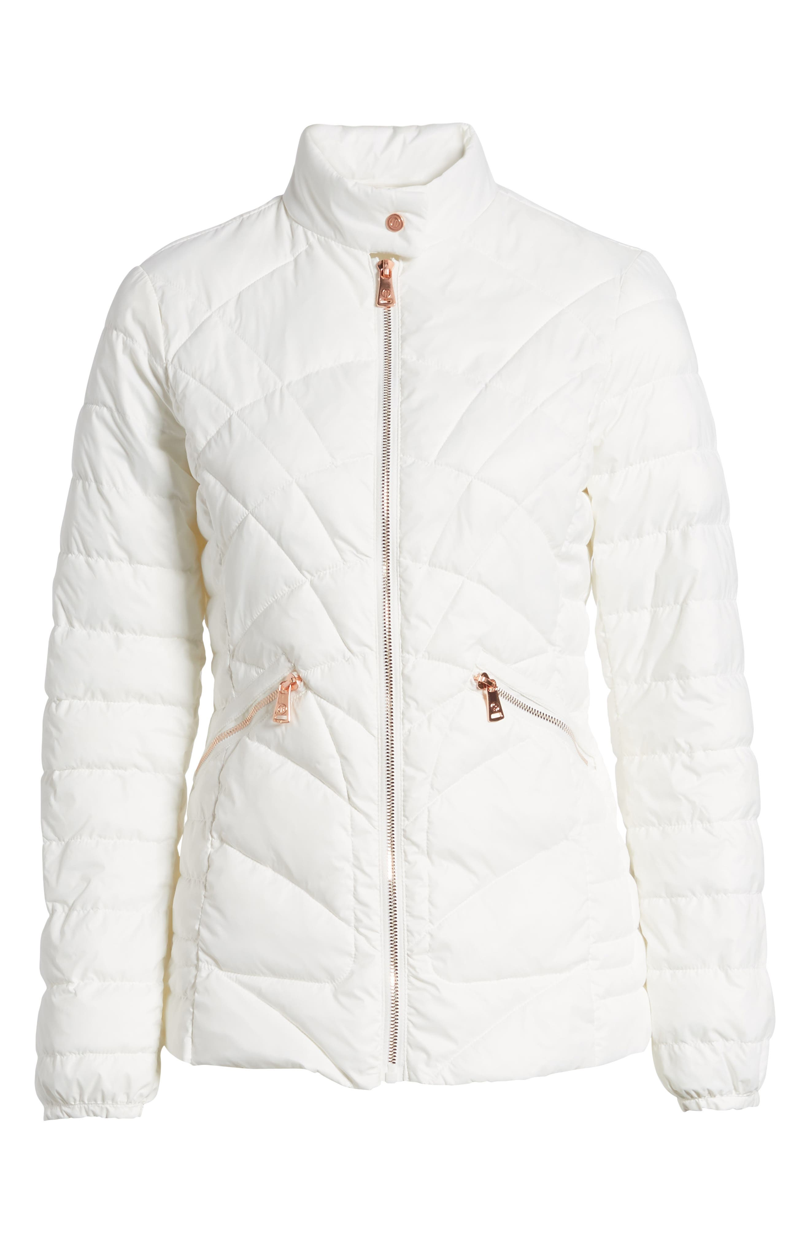 Water-Resistant Thermoplume Insulated Jacket,                             Alternate thumbnail 5, color,                             100