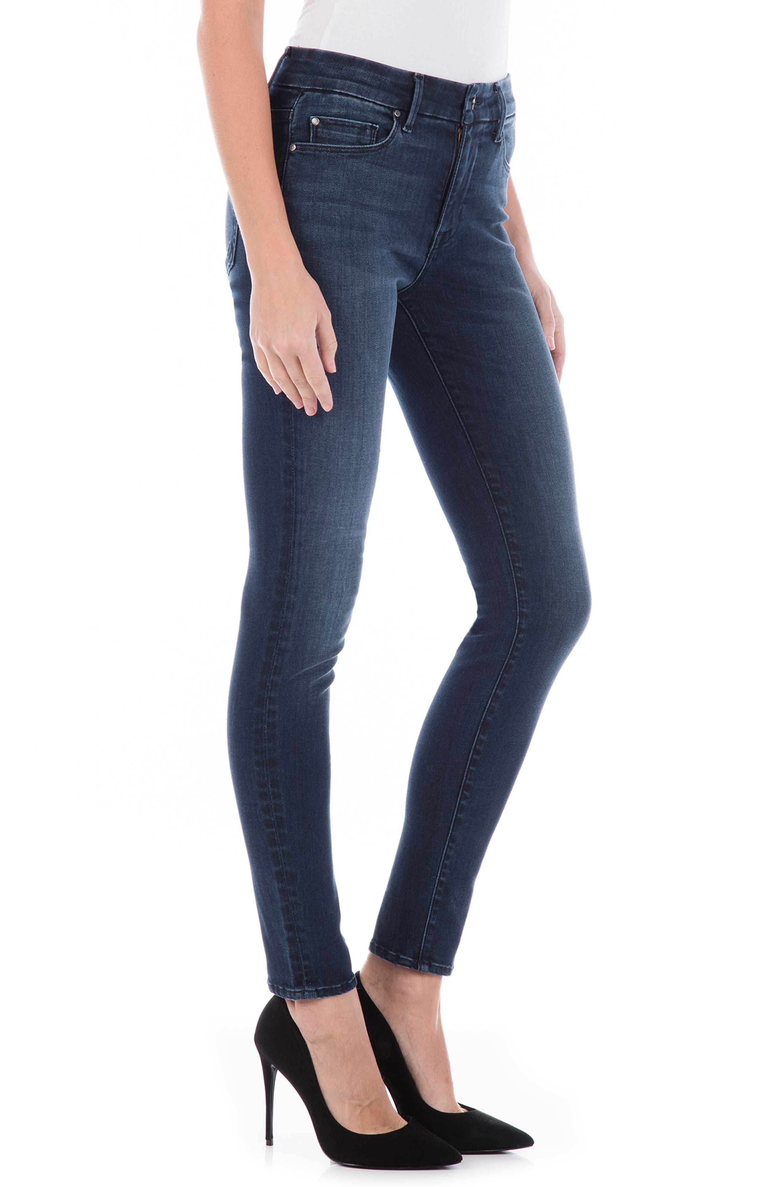 Sola Skinny Jeans,                             Alternate thumbnail 3, color,                             400