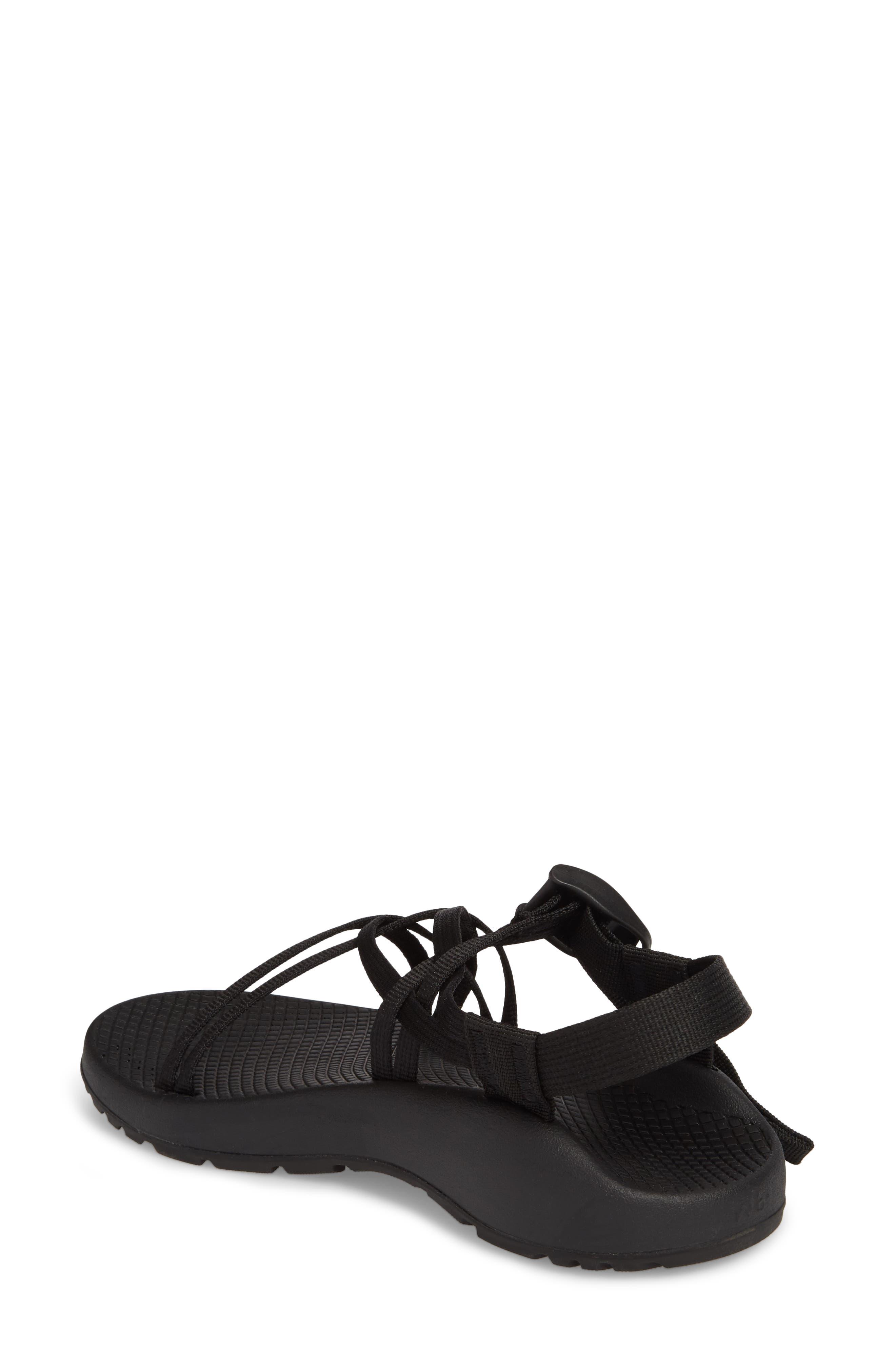 ZX1 Classic Sport Sandal,                             Alternate thumbnail 2, color,                             BLACK