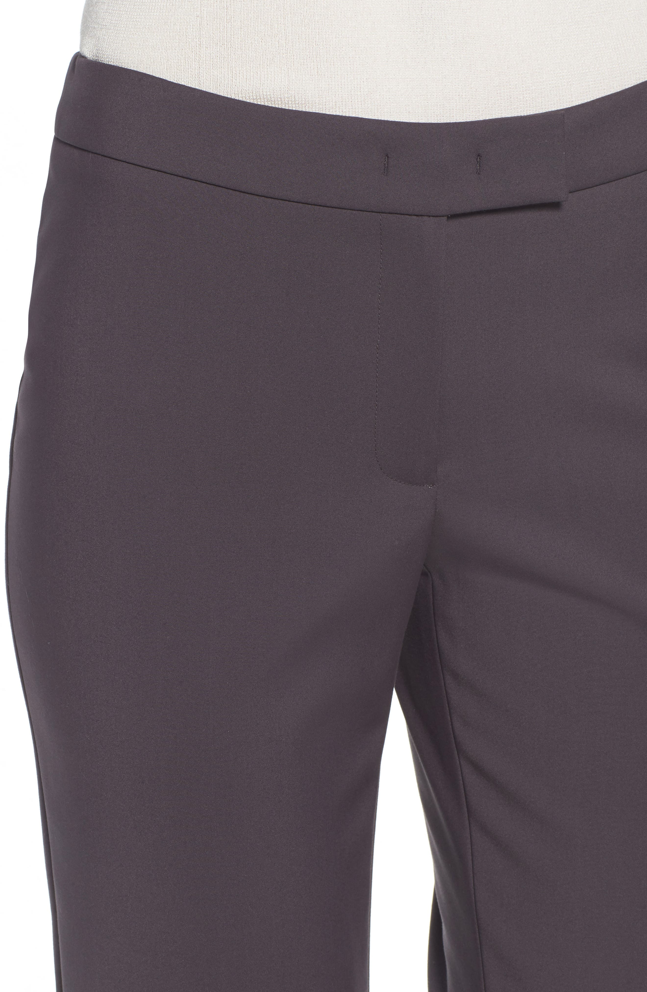 Slim Ankle Pants,                             Alternate thumbnail 4, color,