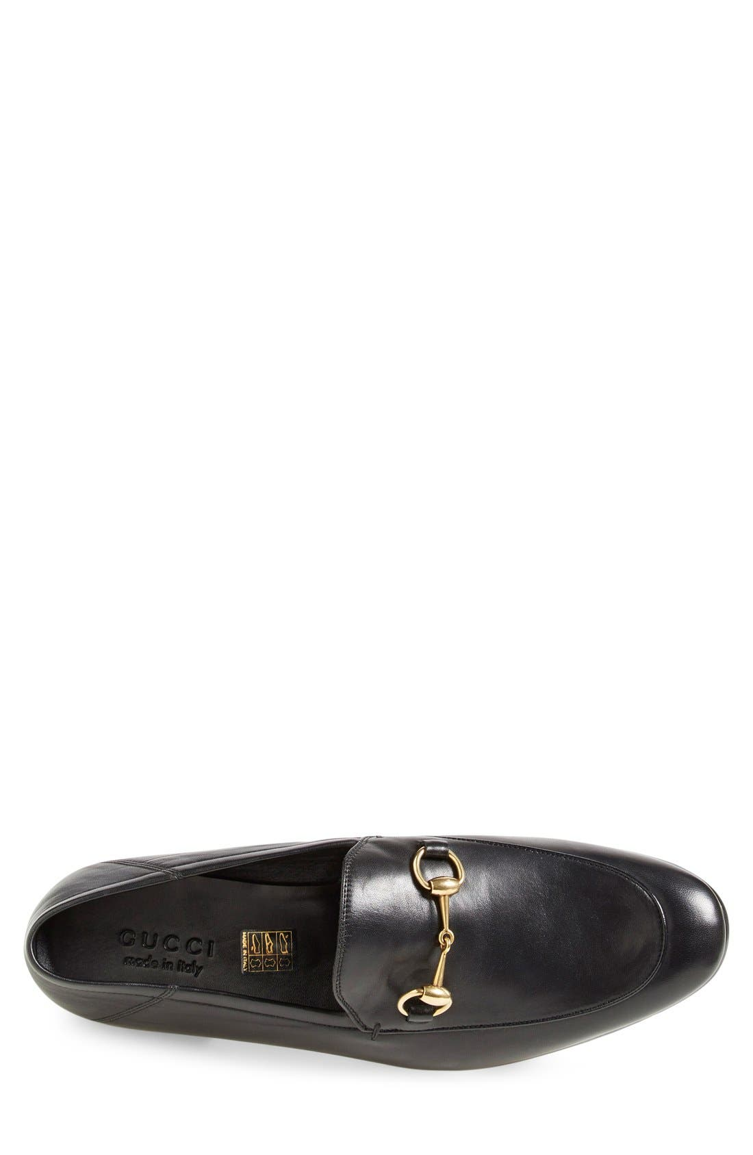 Brixton Leather Loafer,                             Alternate thumbnail 2, color,                             NERO LEATHER