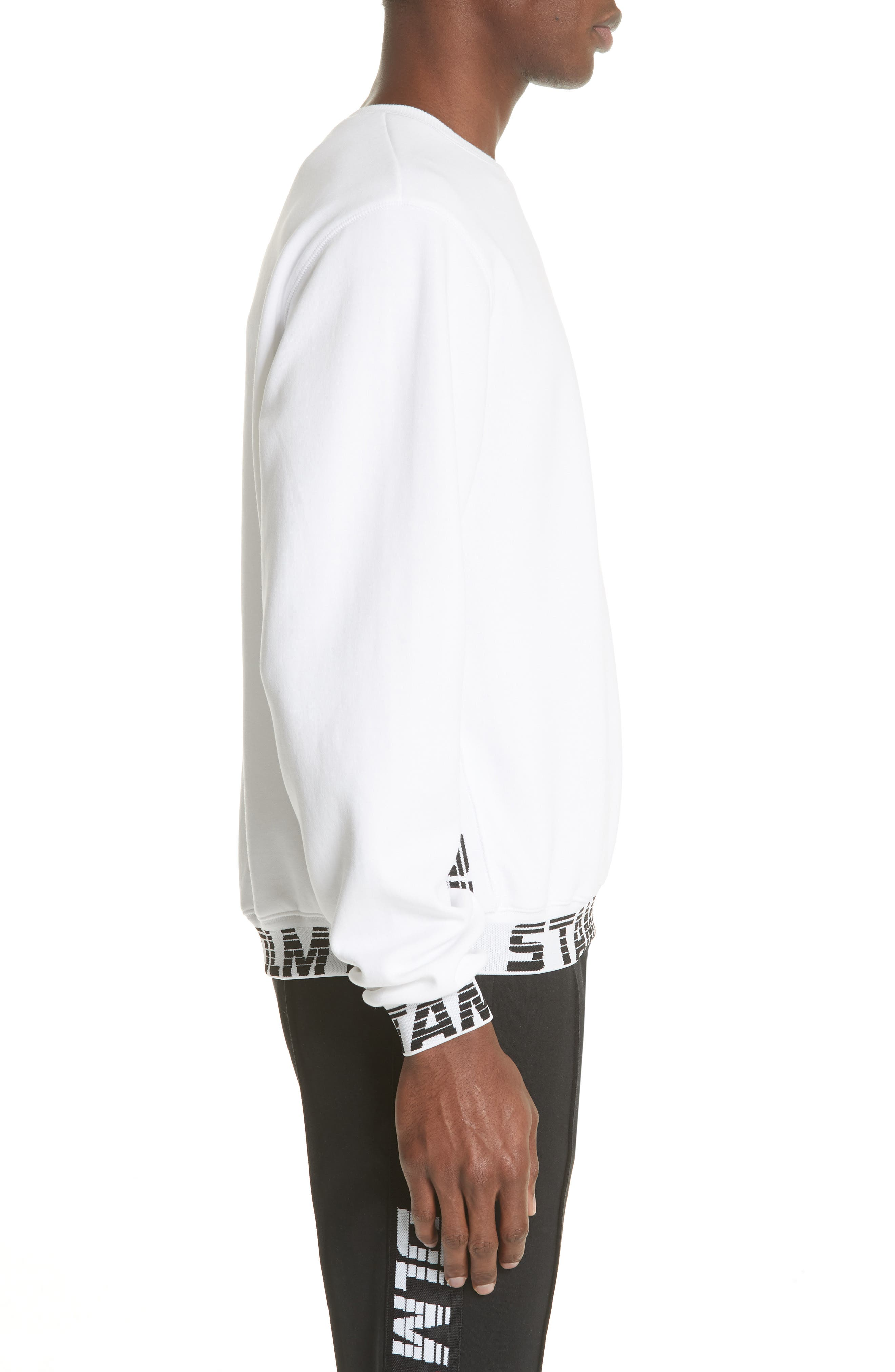 Driver Crewneck Sweatshirt,                             Alternate thumbnail 3, color,                             WHITE
