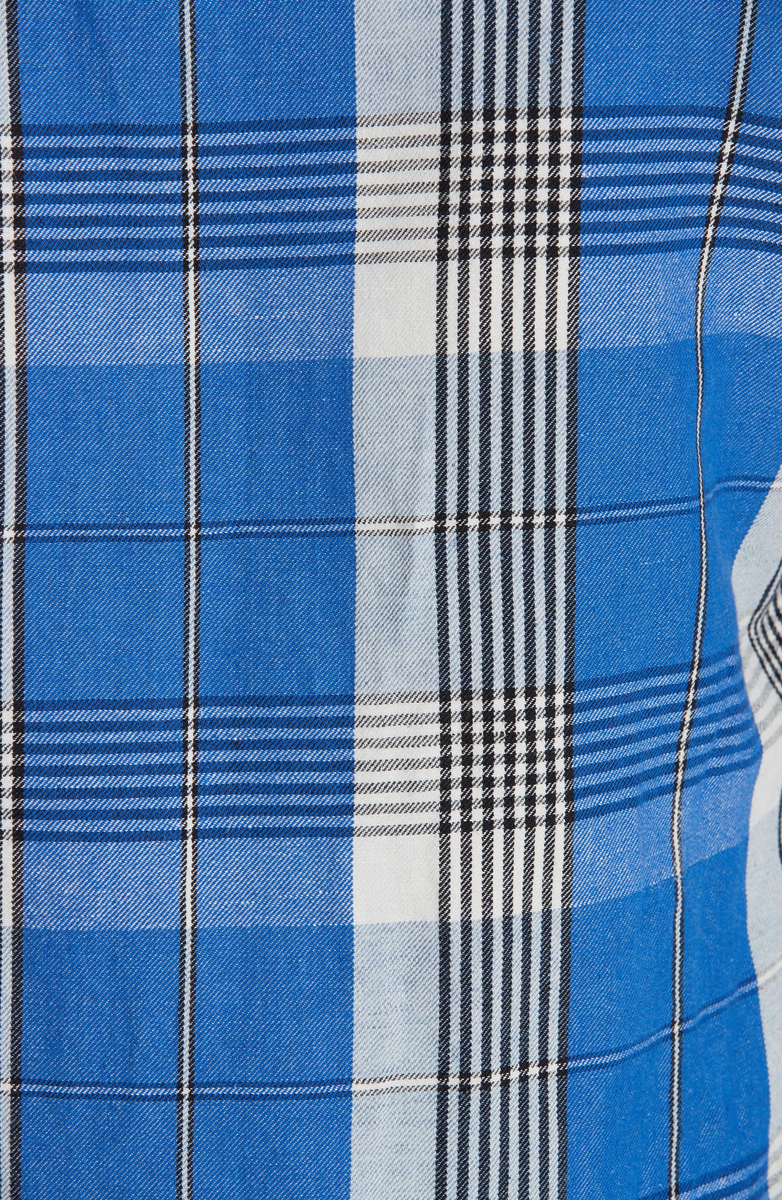 Check Shirt,                             Alternate thumbnail 5, color,                             BLUE