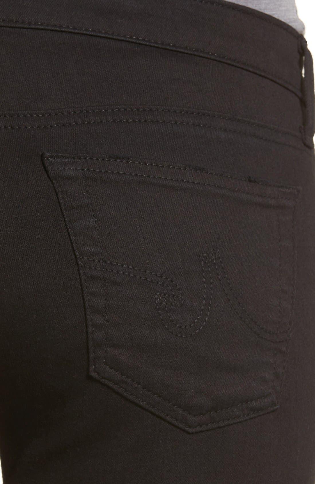 'The Legging' Ankle Super Skinny Jeans,                             Alternate thumbnail 25, color,