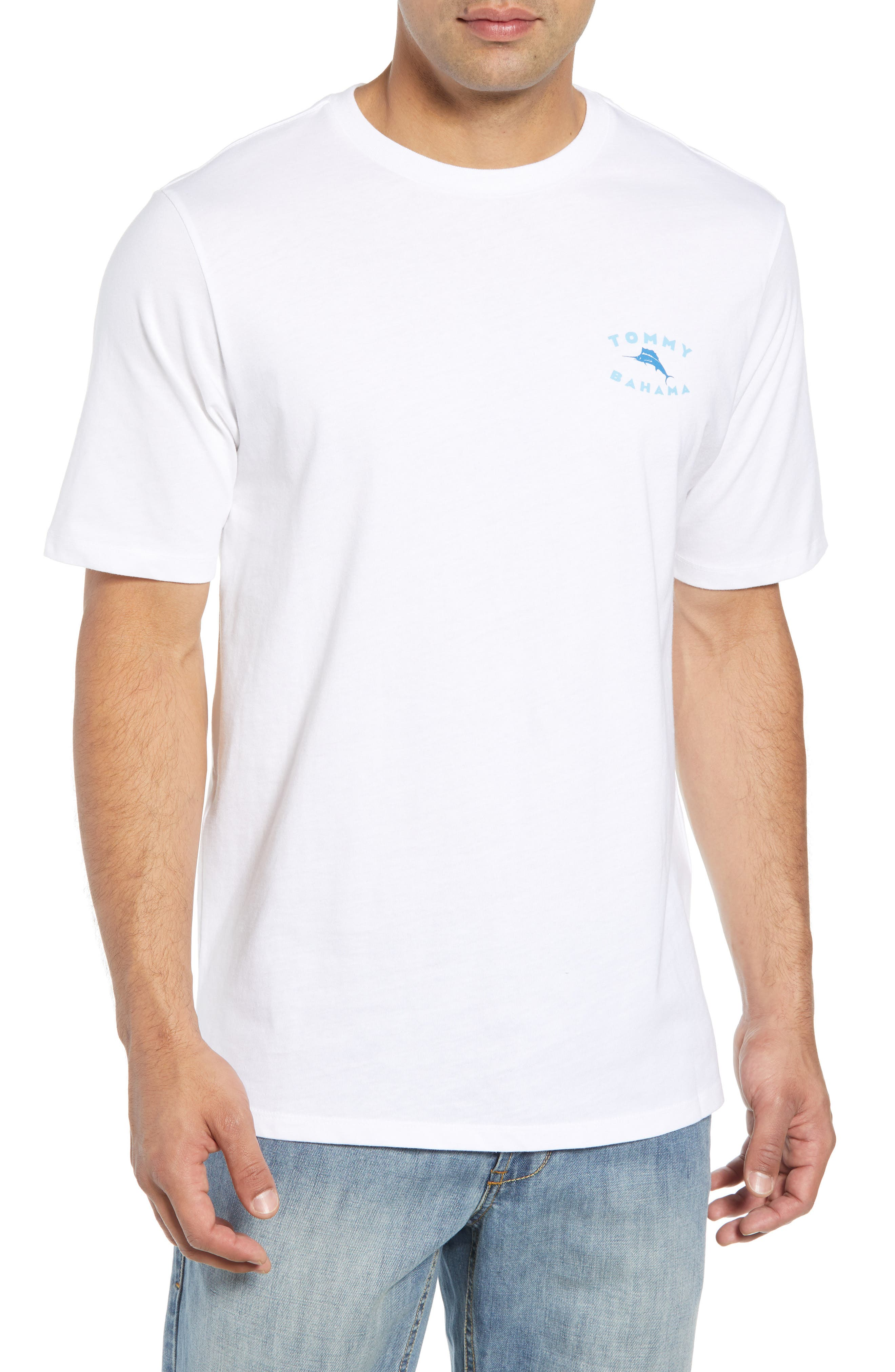 TOMMY BAHAMA Complete Transparency T-Shirt, Main, color, 100
