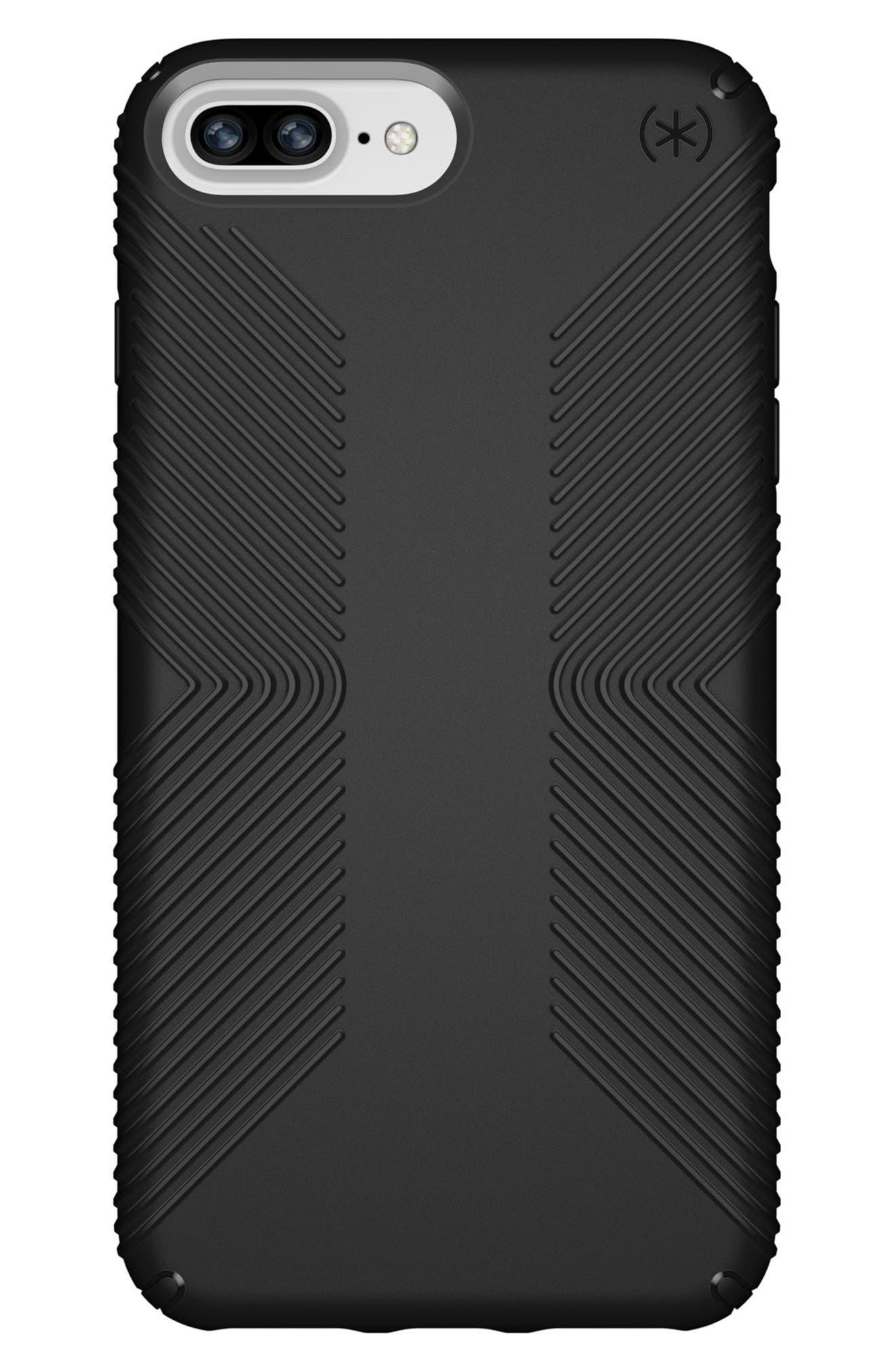 SPECK,                             Grip iPhone 6/6s/7/8 Plus Case,                             Main thumbnail 1, color,                             001