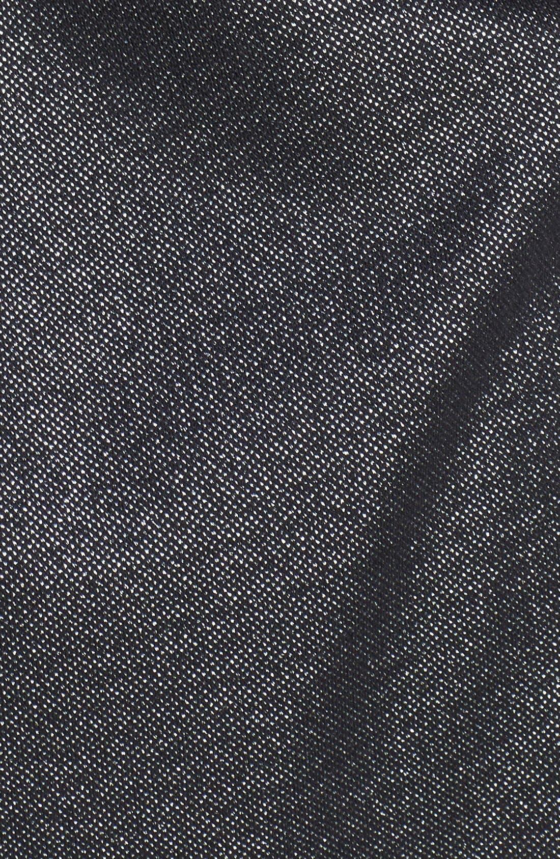 Strapless Dress,                             Alternate thumbnail 4, color,                             LUREX