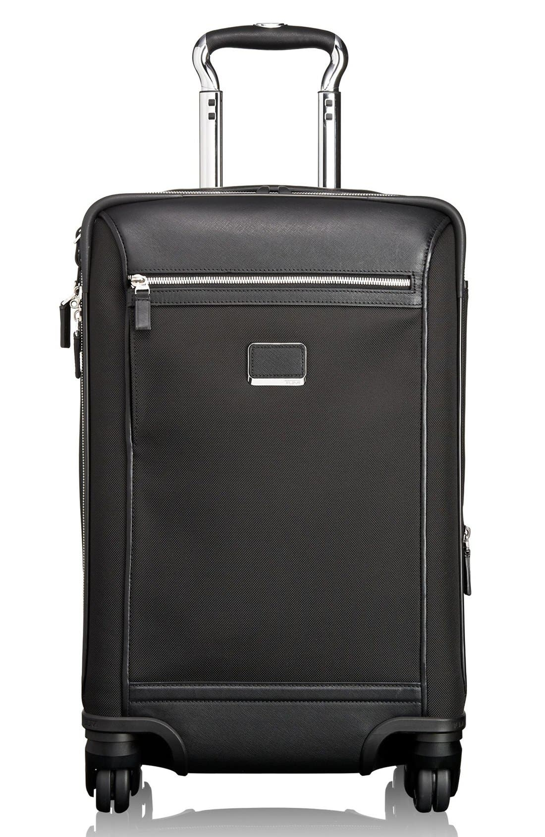 'Astor - Osborne' 4-Wheeled Carry-On Suitcase,                             Main thumbnail 1, color,                             001