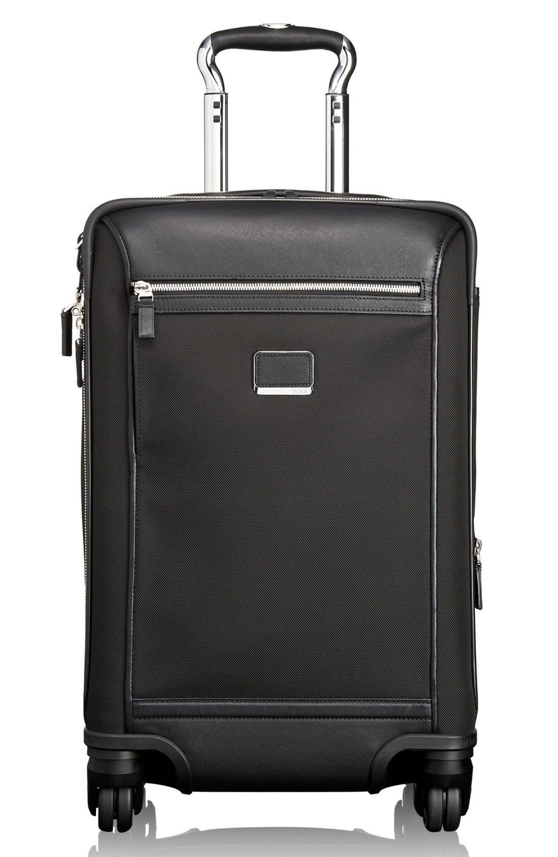 'Astor - Osborne' 4-Wheeled Carry-On Suitcase, Main, color, 001