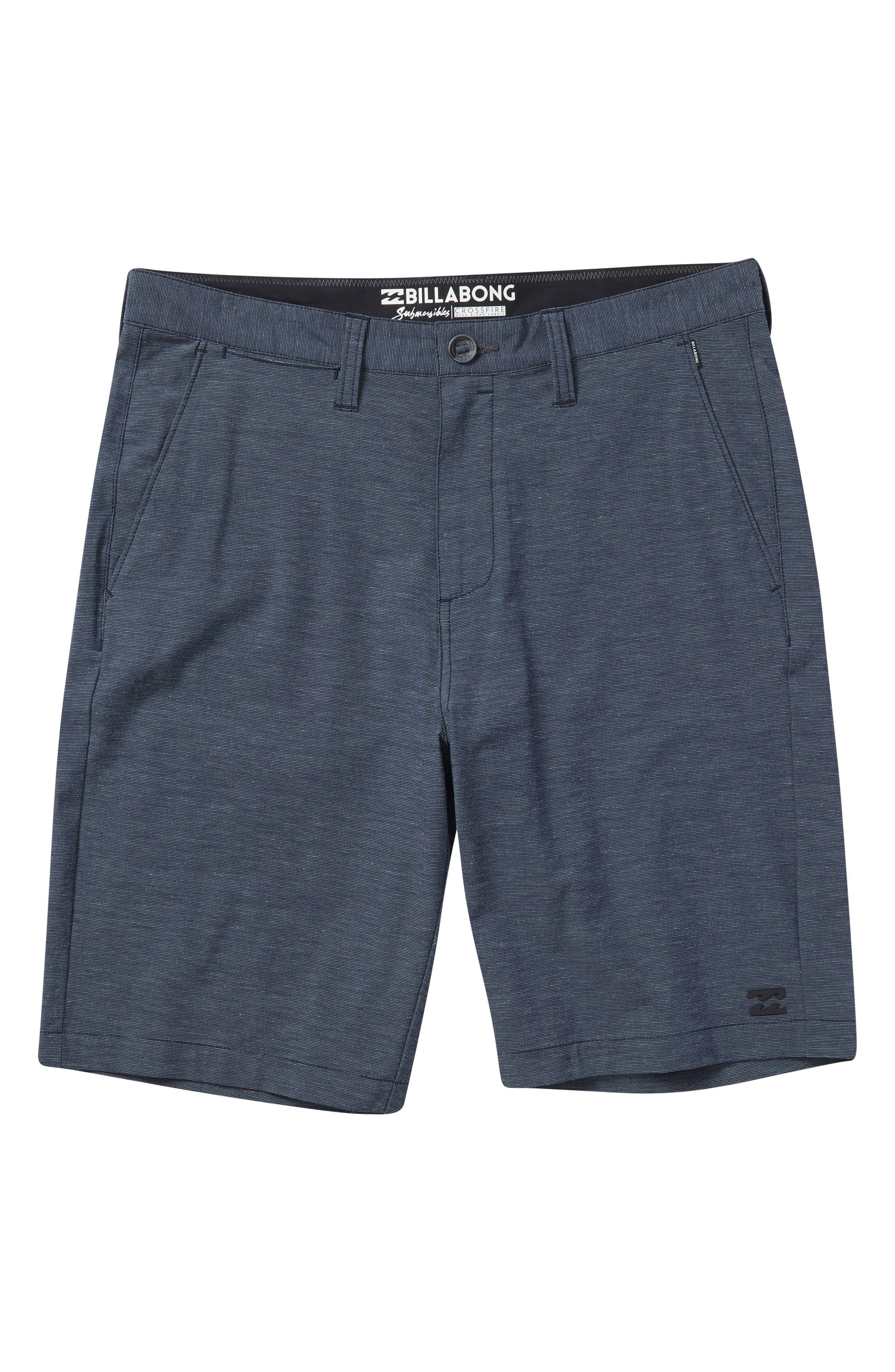 Crossfire X Hybrid Shorts,                         Main,                         color, NAVY