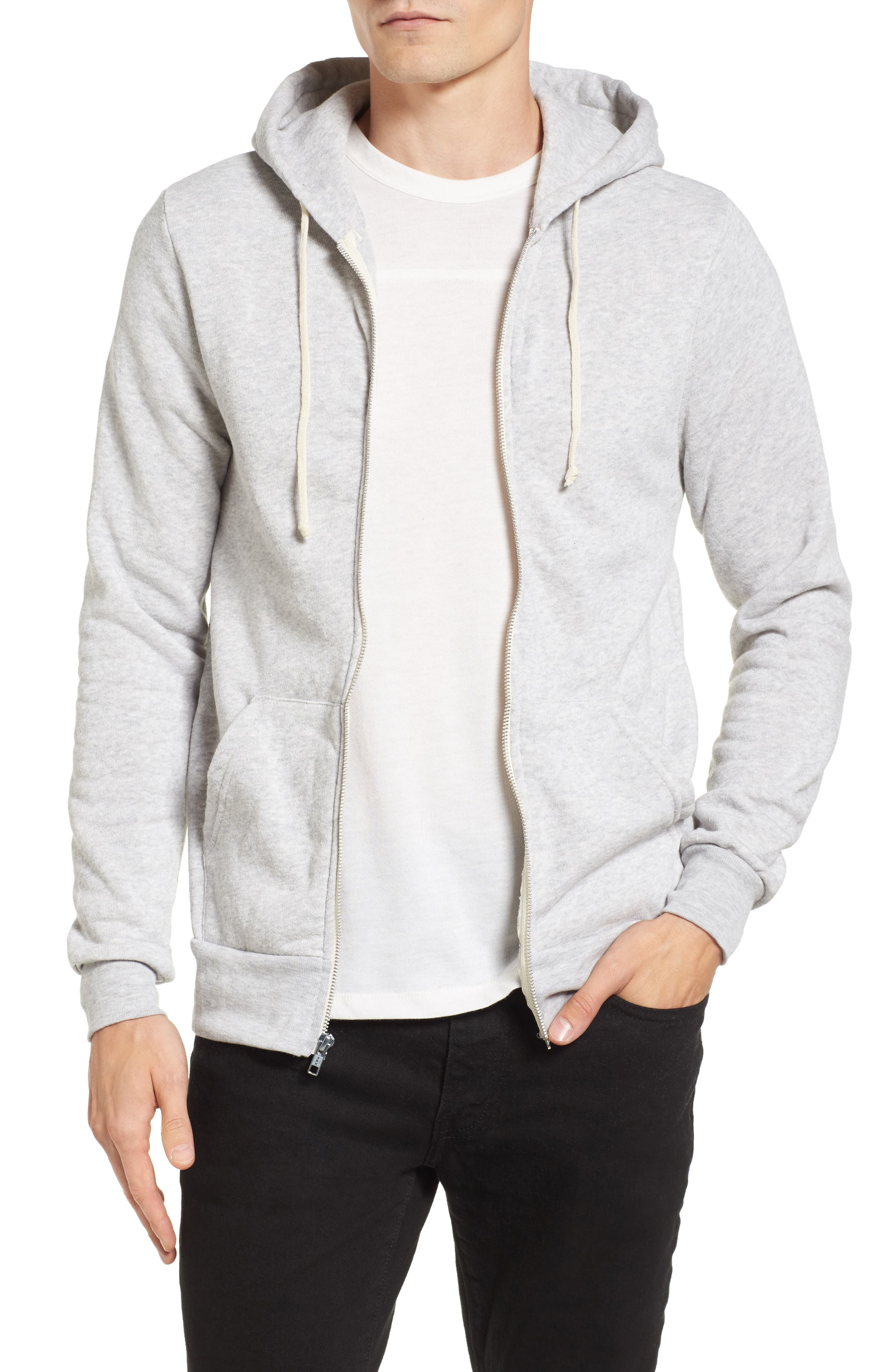 'Rocky' Trim Fit Hoodie,                         Main,                         color, 250
