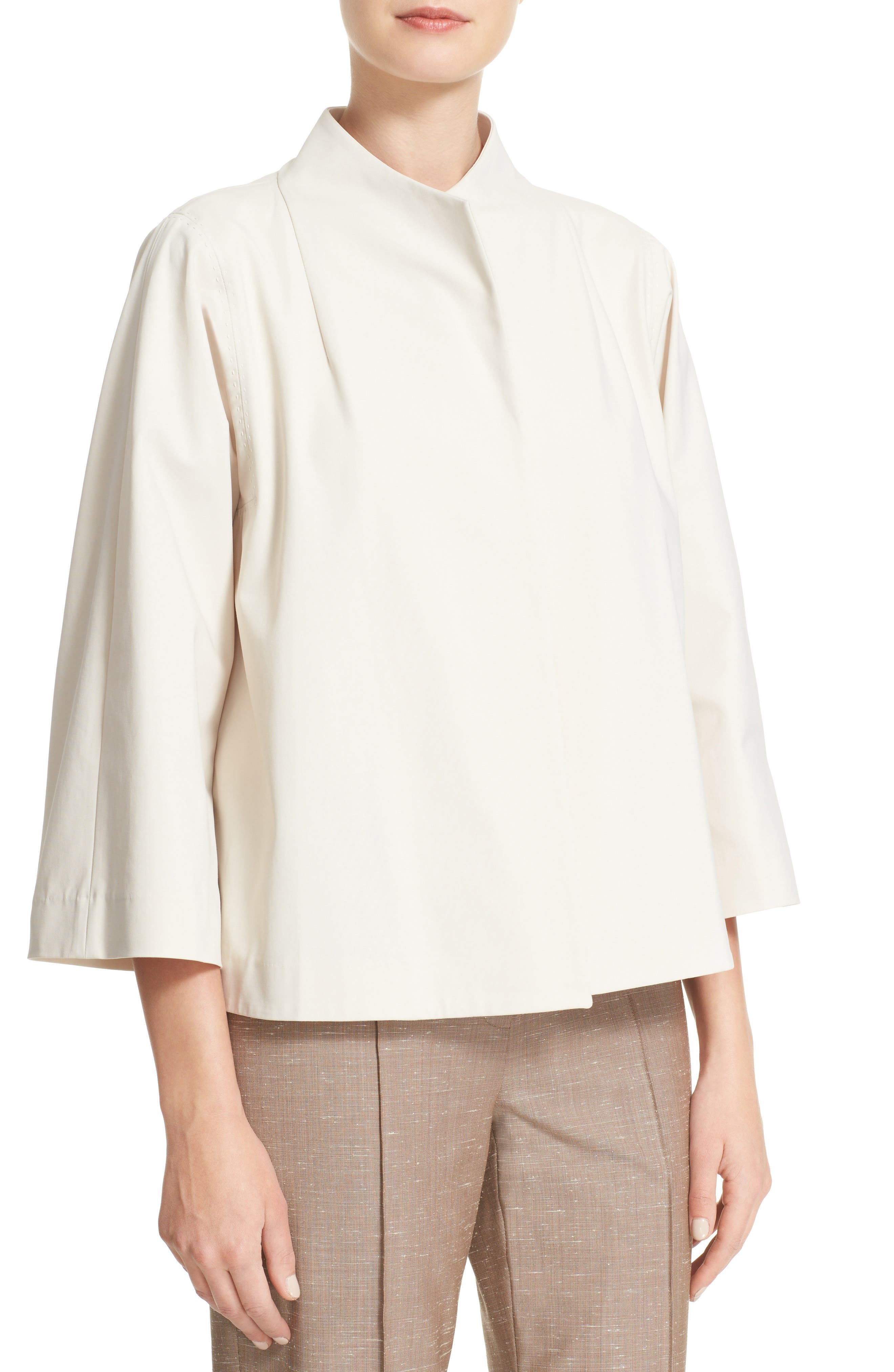 Kirby Funnel Neck Jacket,                             Alternate thumbnail 4, color,                             901