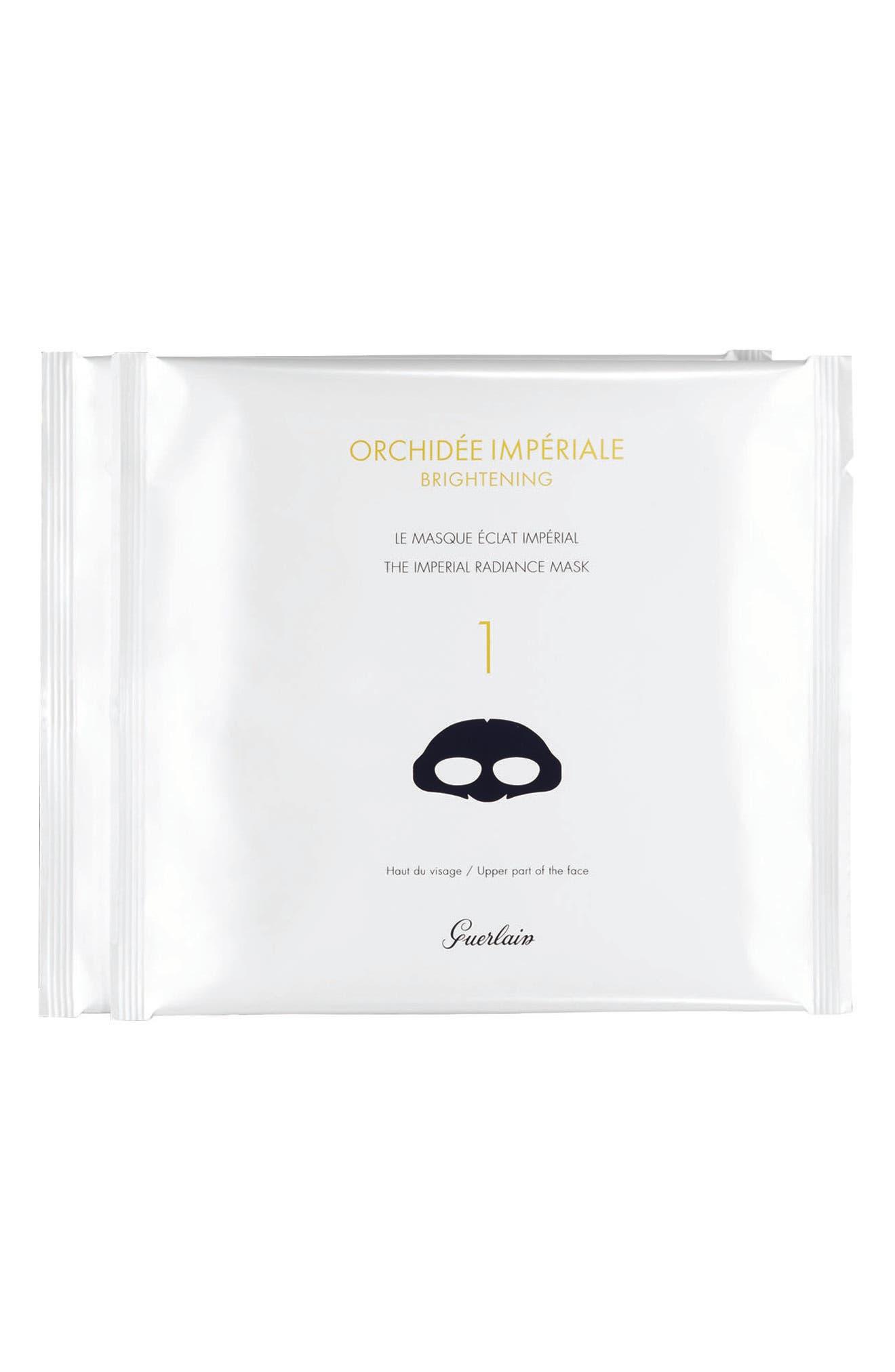 4-Count Orchidée Impériale Radiance Mask,                         Main,                         color, NO COLOR