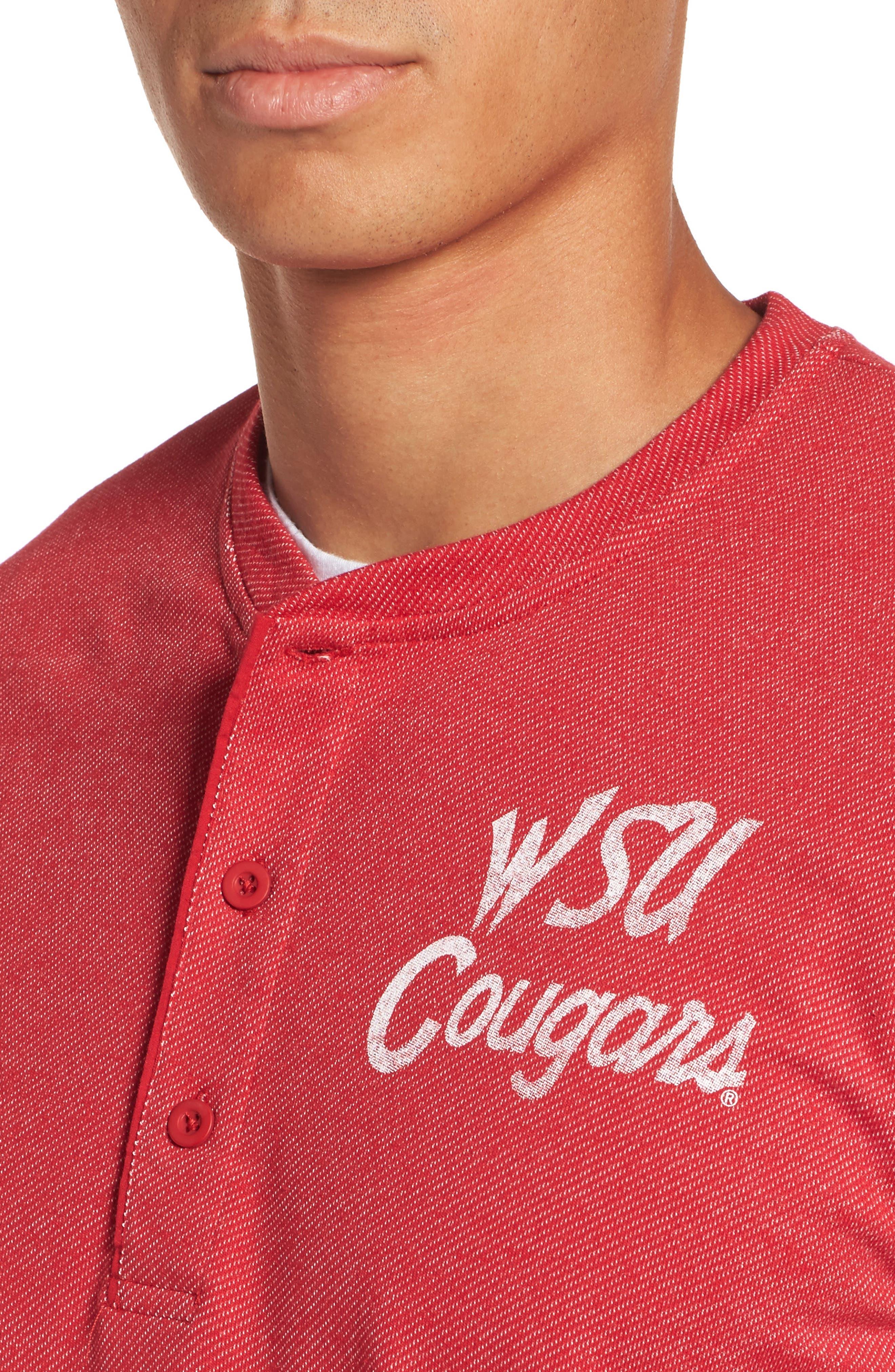 Washington State University Cougars Henley,                             Alternate thumbnail 4, color,                             600