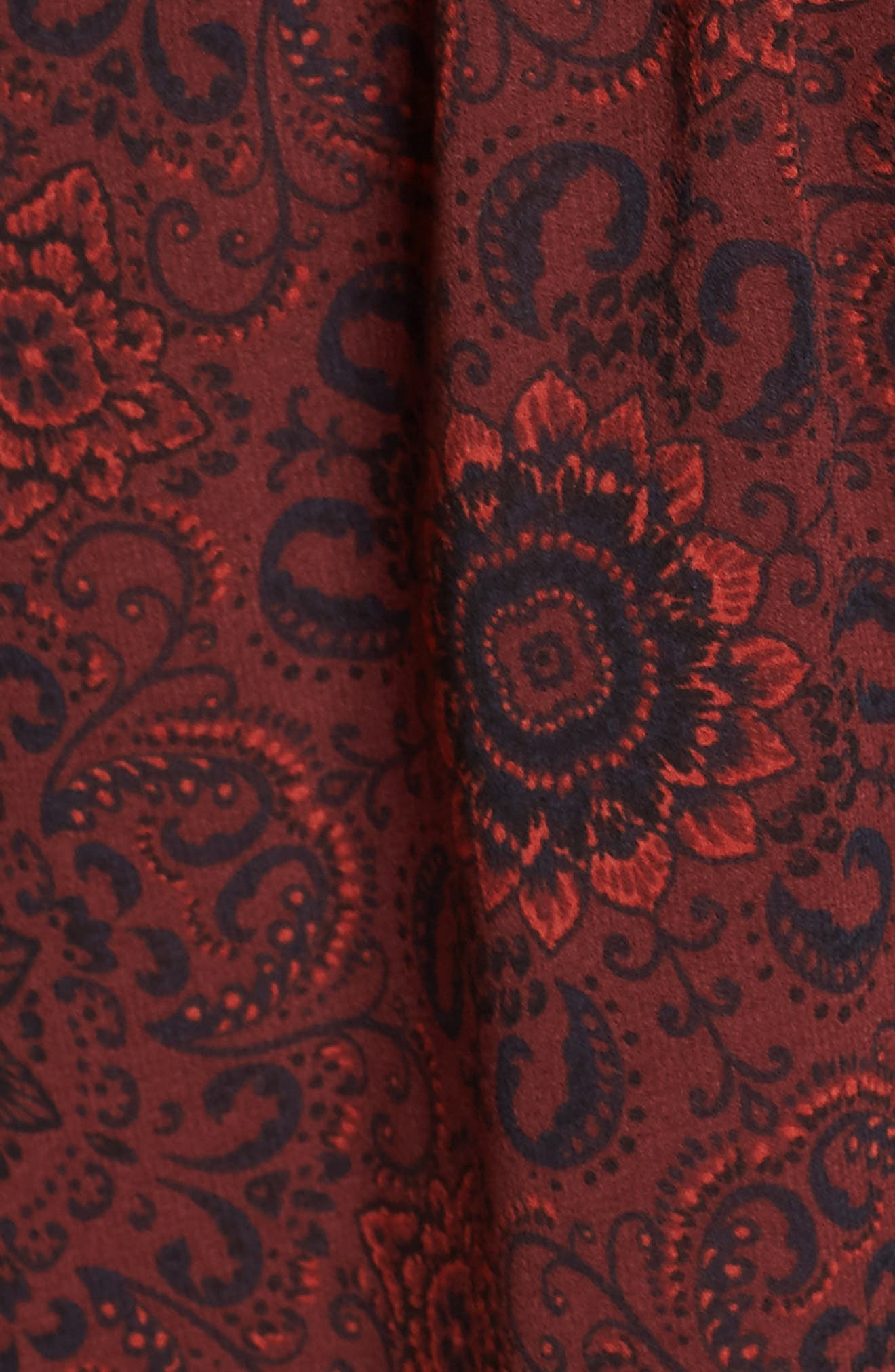 Branton Fit & Flare Dress,                             Alternate thumbnail 5, color,                             930