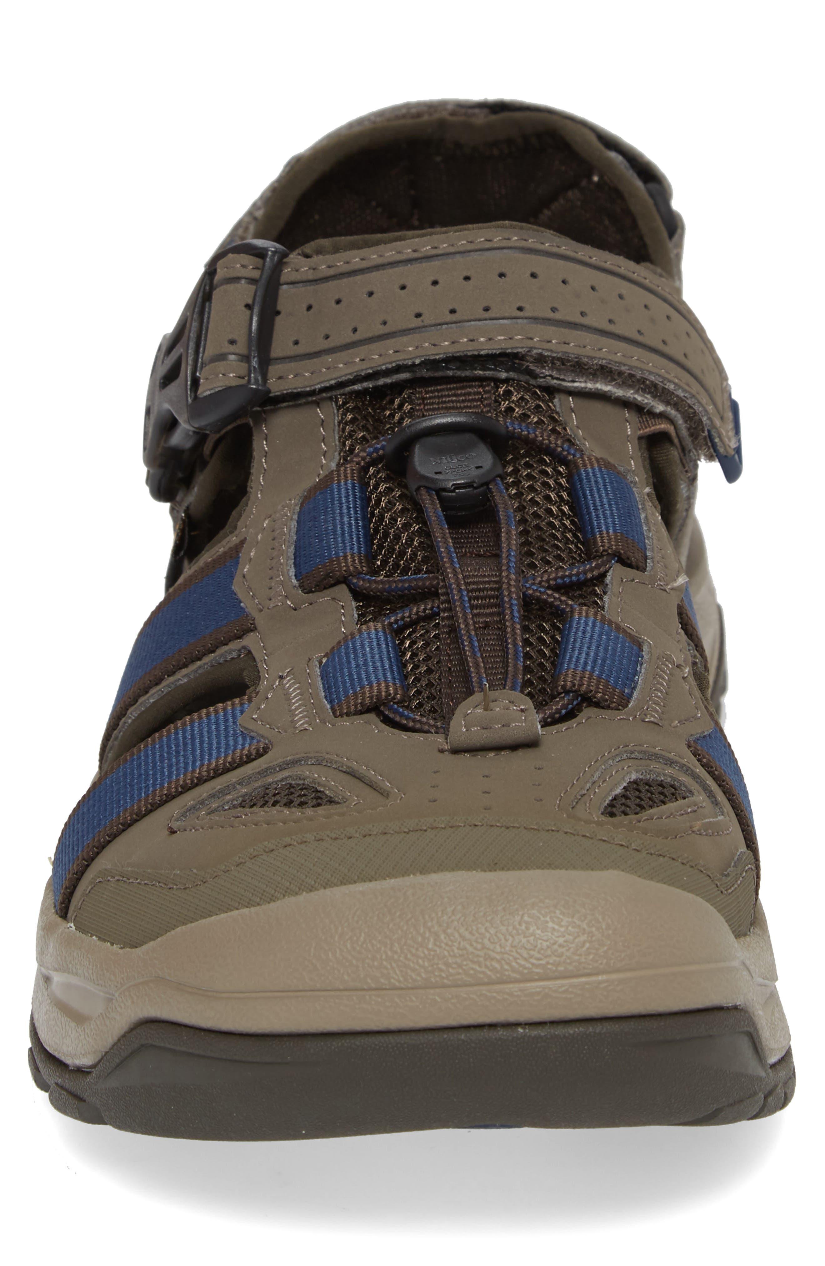 Omnium 2 Hiking Sandal,                             Alternate thumbnail 4, color,                             BROWN NYLON