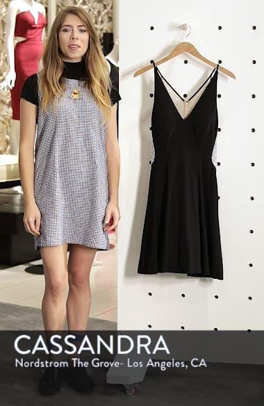 Deep V-Neck Skater Dress, sales video thumbnail