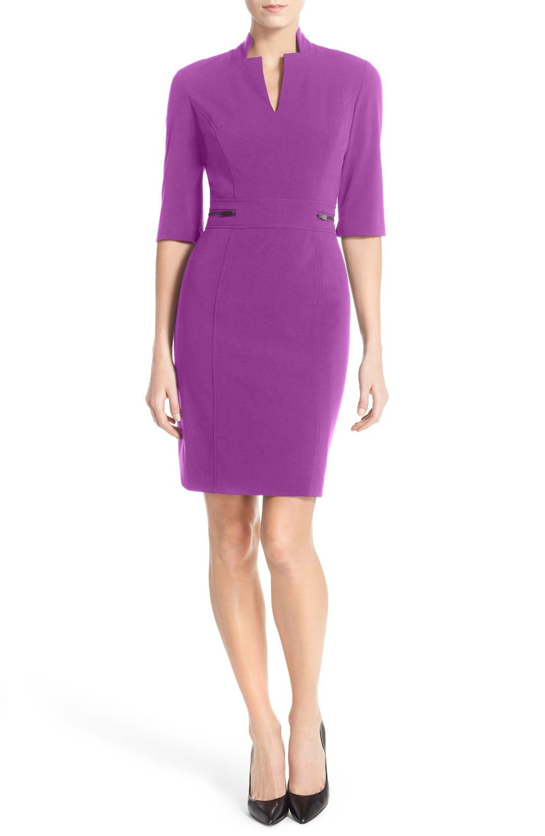 Sheath Dress,                             Main thumbnail 3, color,