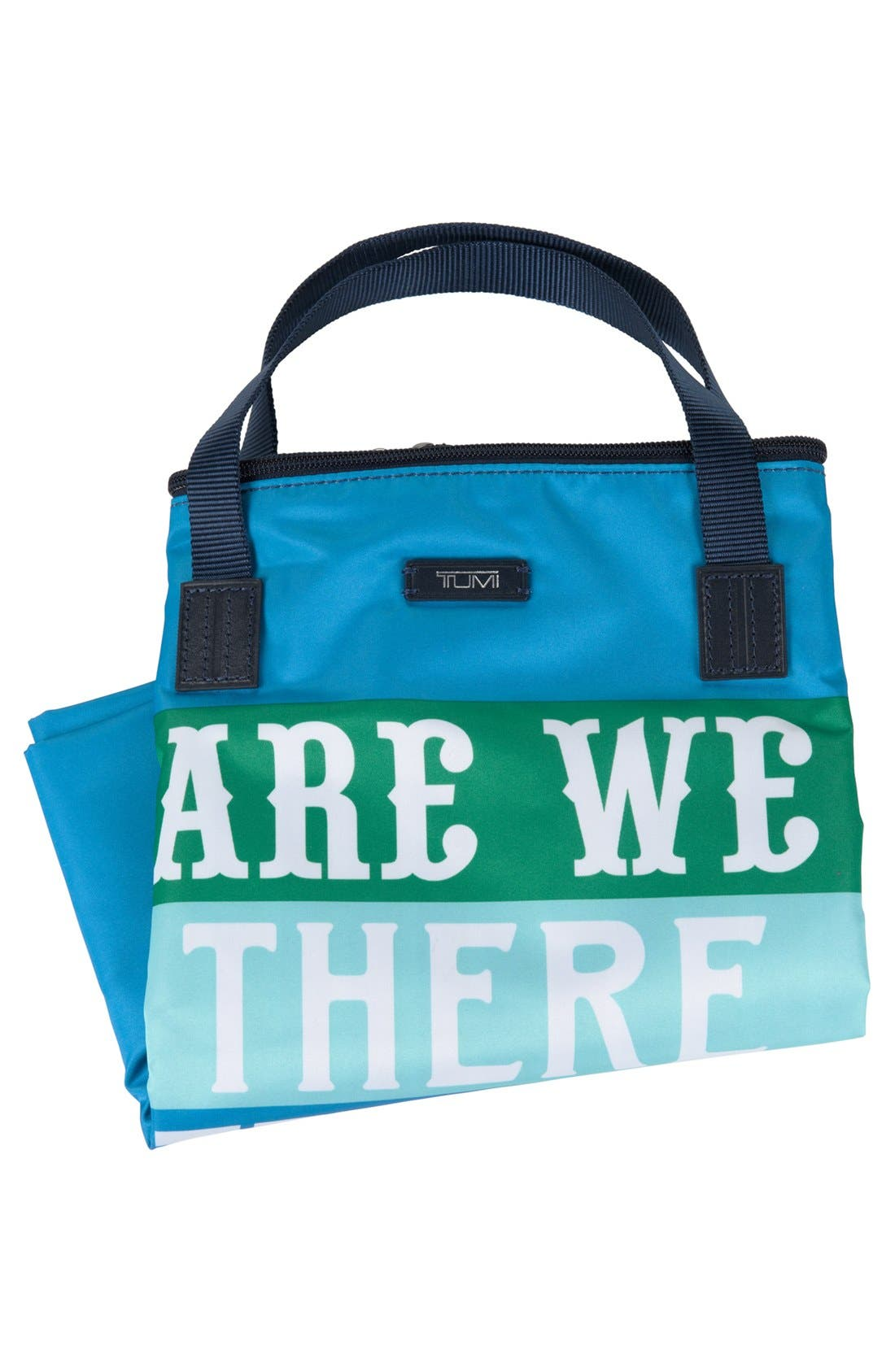 'Are We There Yet?' Nylon Tote,                             Alternate thumbnail 4, color,                             450