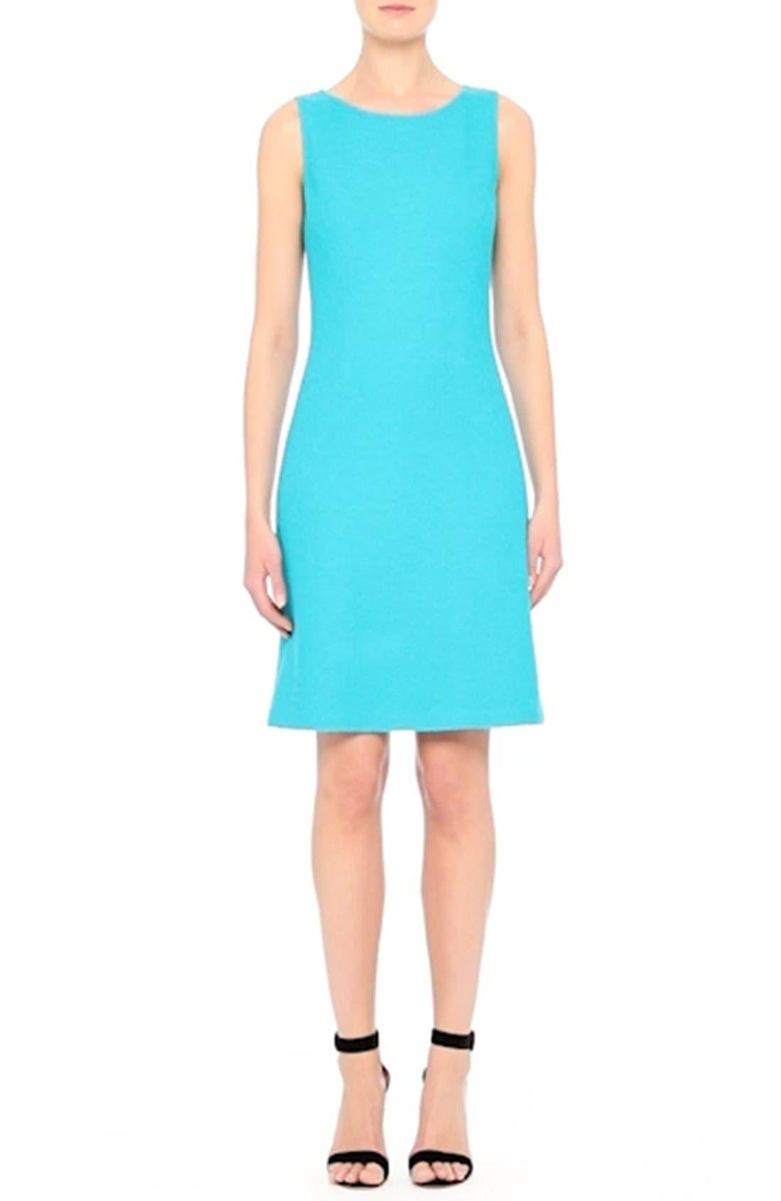 Clair Knit A-Line Dress,                             Alternate thumbnail 8, color,                             440