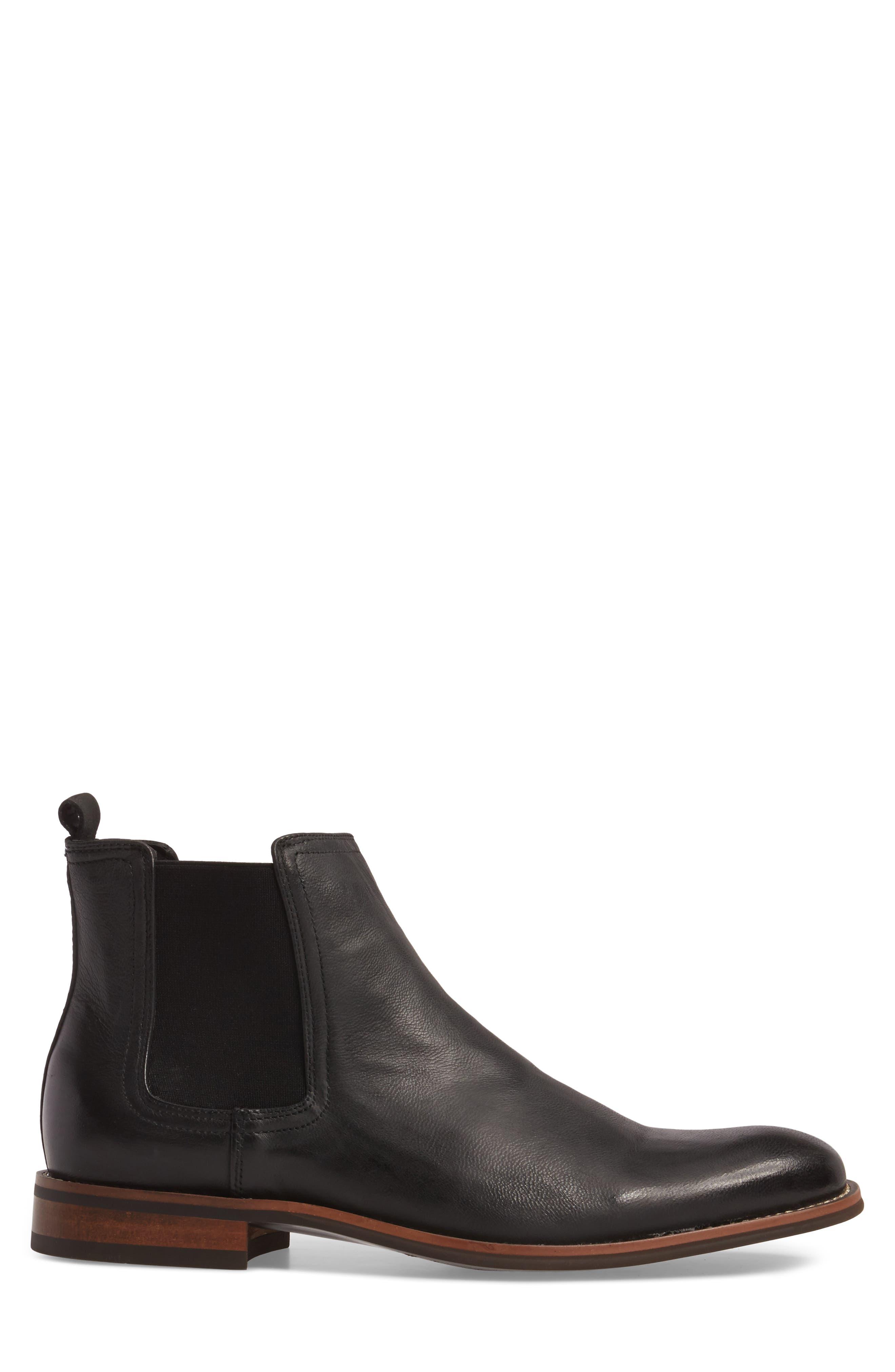 Lawson Chelsea Boot,                             Alternate thumbnail 3, color,                             BLACK