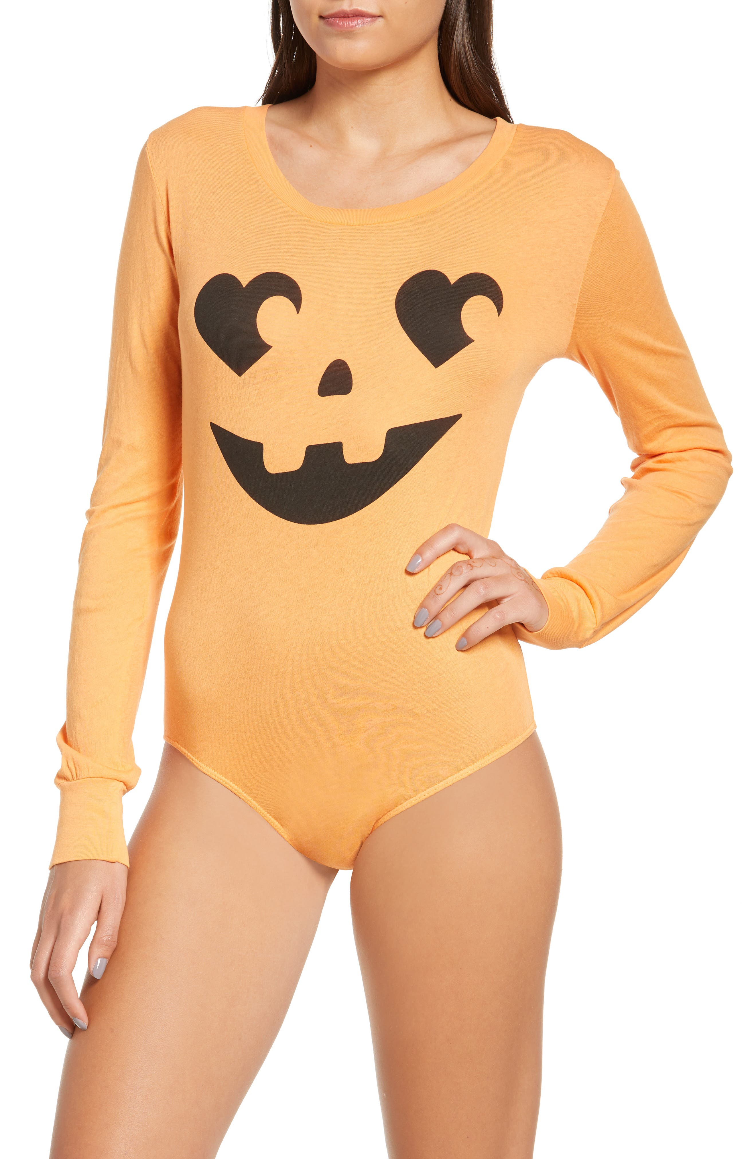 WILDFOX,                             Jack O' Heart Bodysuit,                             Alternate thumbnail 2, color,                             820