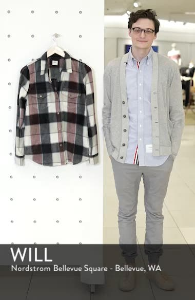 Zuma Plaid Fleece Flannel Shirt, sales video thumbnail