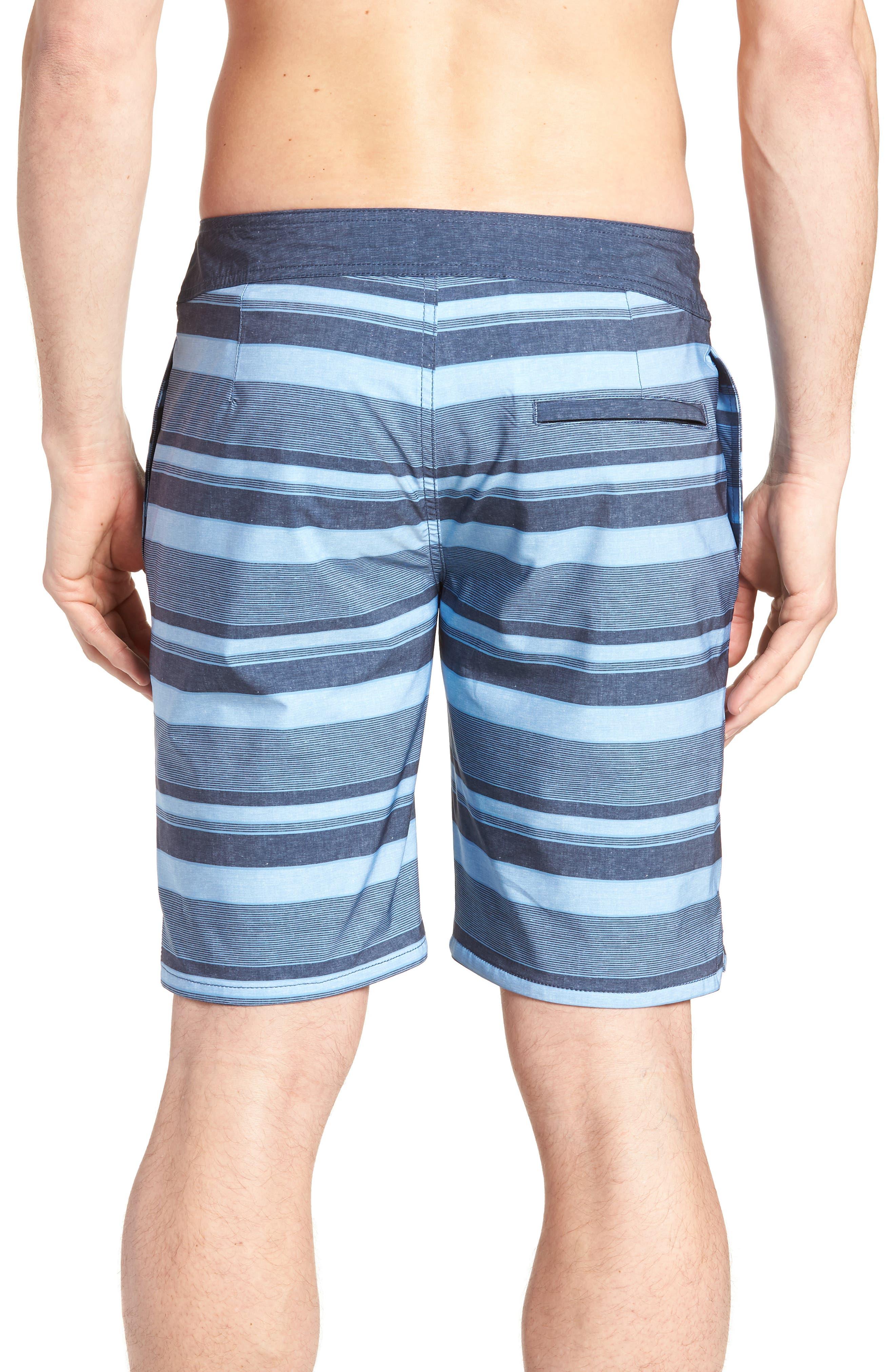 Colinas Regular Fit Board Shorts,                             Alternate thumbnail 2, color,                             HEATHER BLUESTONE
