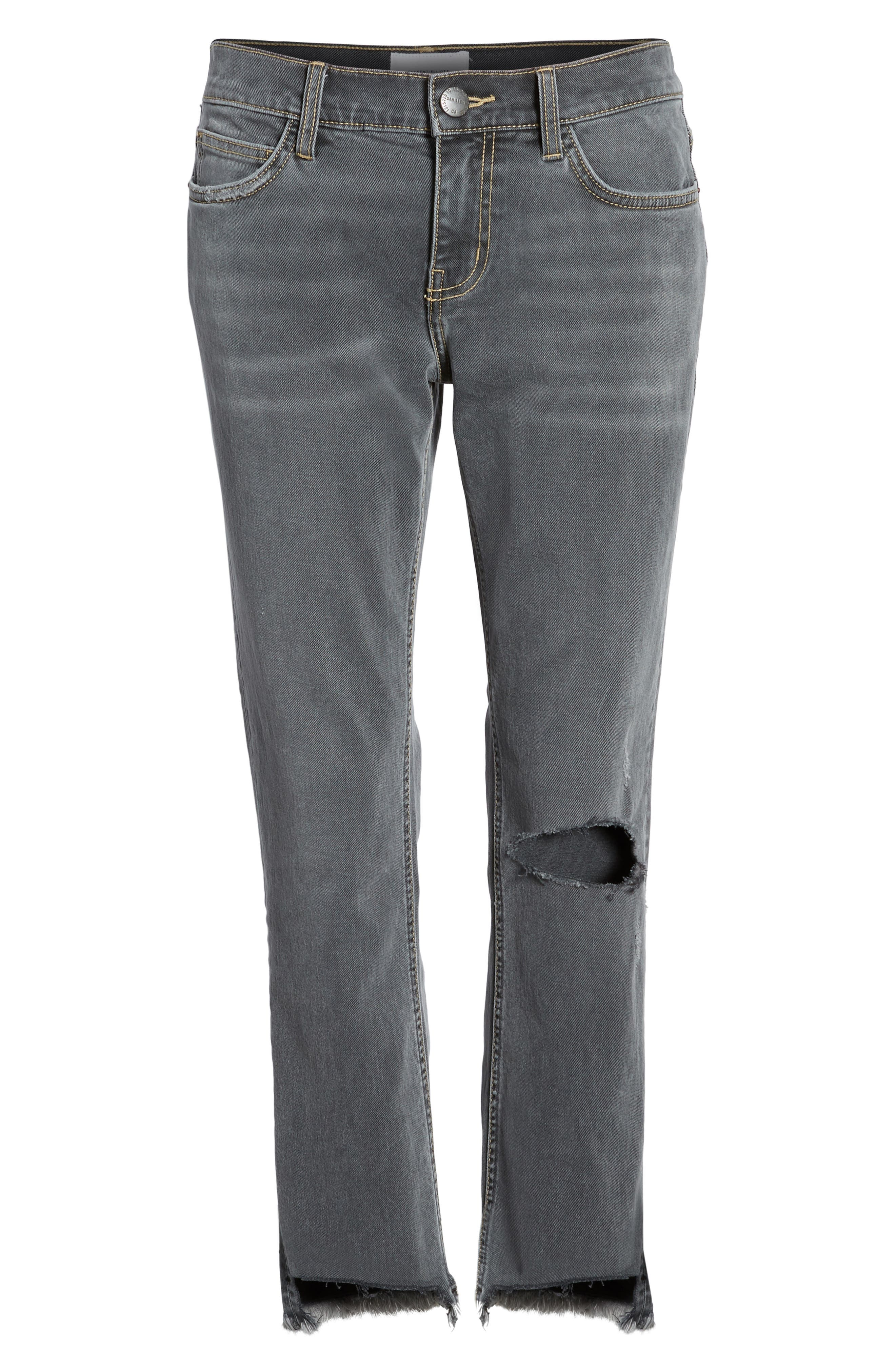 The Cropped Straight Leg Jeans,                             Alternate thumbnail 7, color,                             080