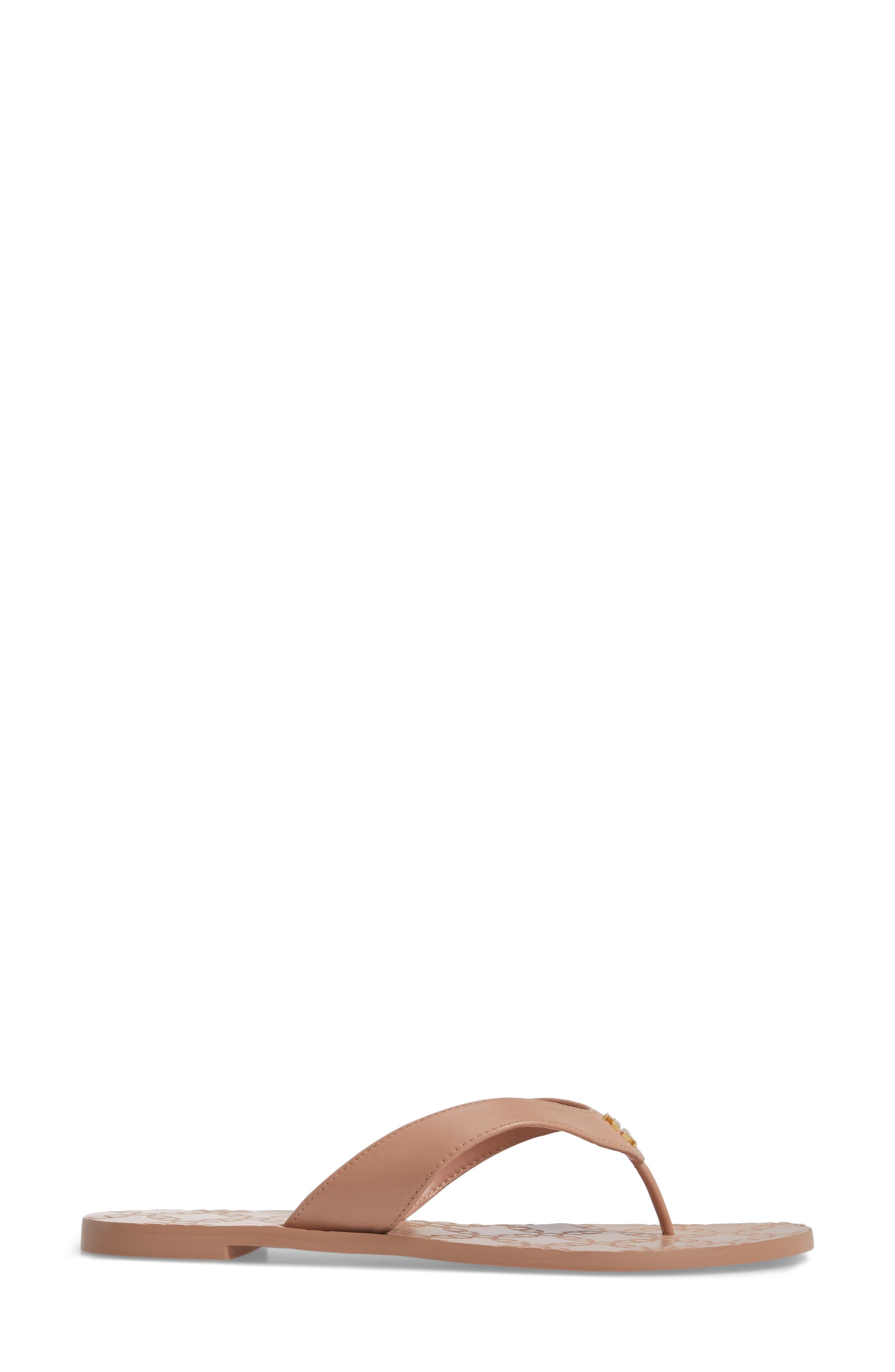 Monroe Flip Flop,                             Alternate thumbnail 3, color,                             LIGHT MAKEUP