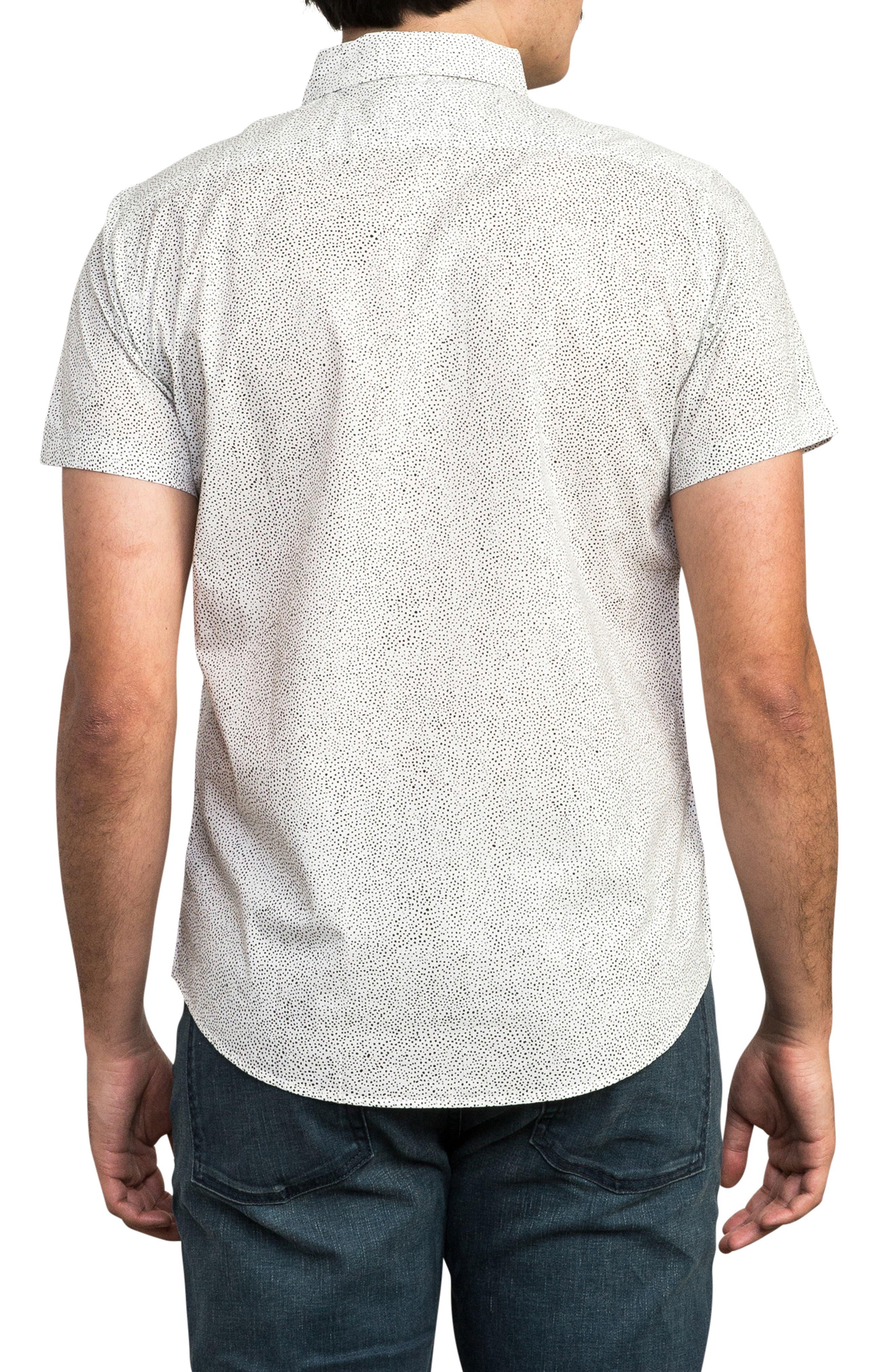 Benji Short Sleeve Woven Shirt,                             Alternate thumbnail 3, color,                             ANTIQUE WHITE