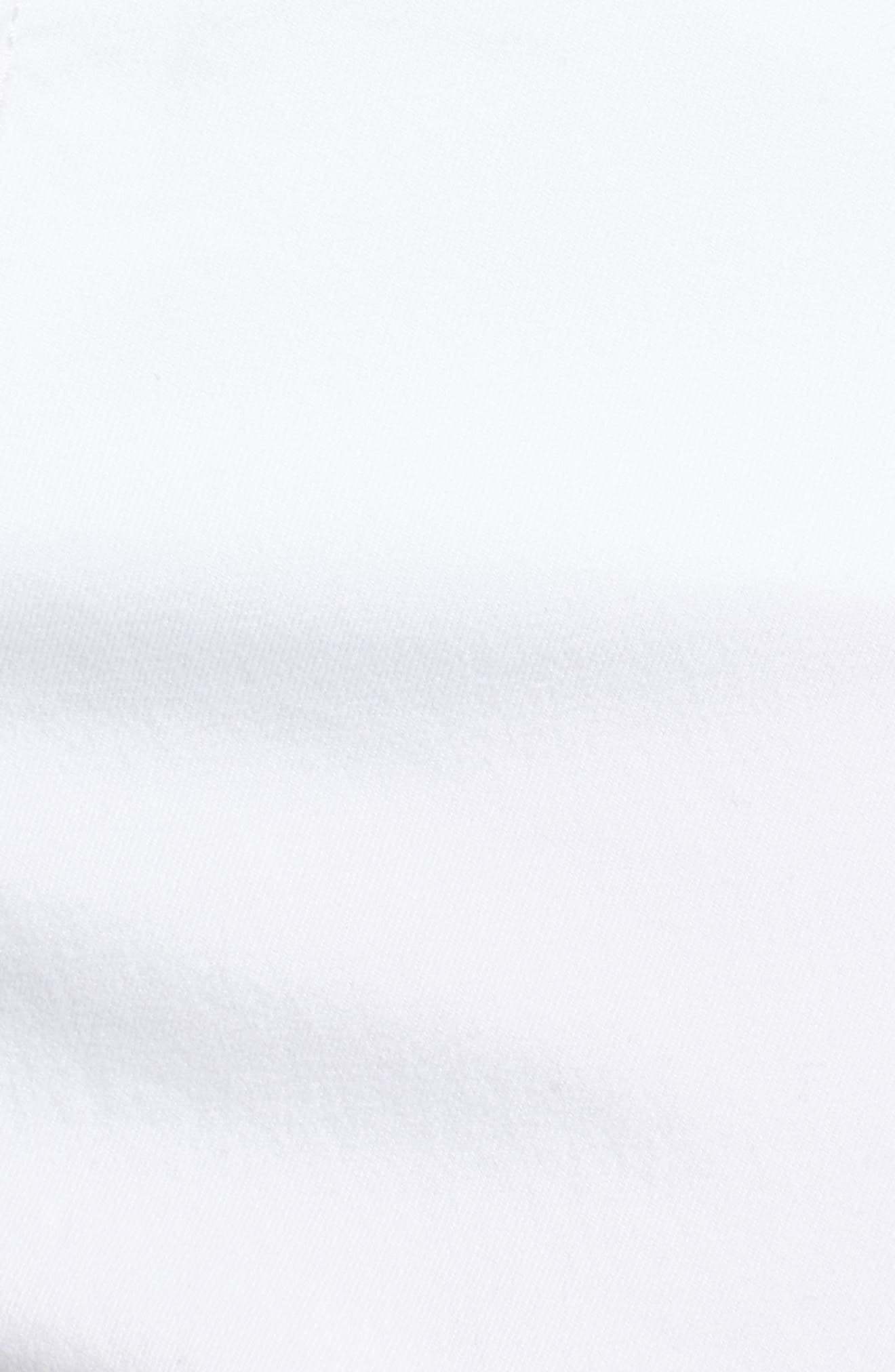 Stretch Twill Bermuda Shorts,                             Alternate thumbnail 5, color,                             OPTIC WHITE