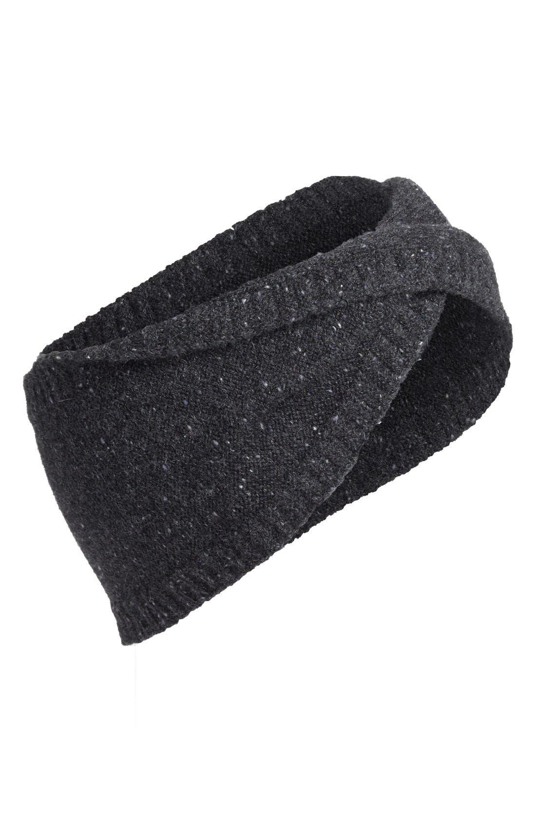Cashmere Head Wrap, Main, color, 001