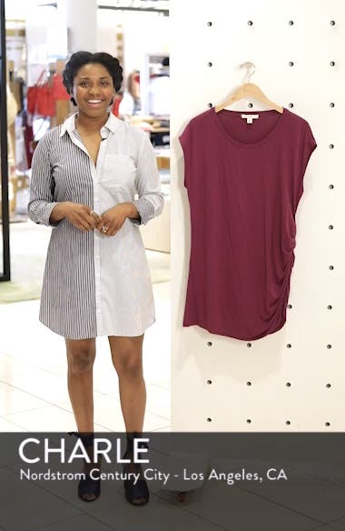 Gathered Side Seam Tunic, sales video thumbnail