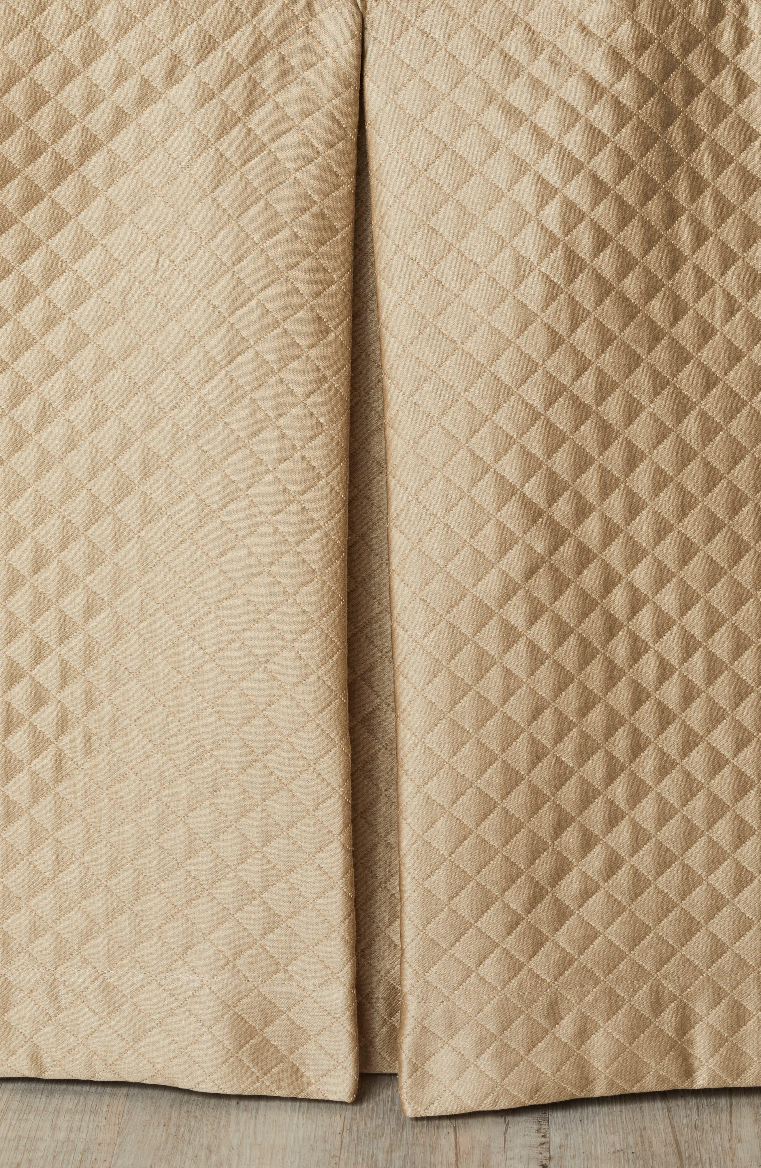 Bari Dust Ruffle,                             Main thumbnail 1, color,                             TAUPE