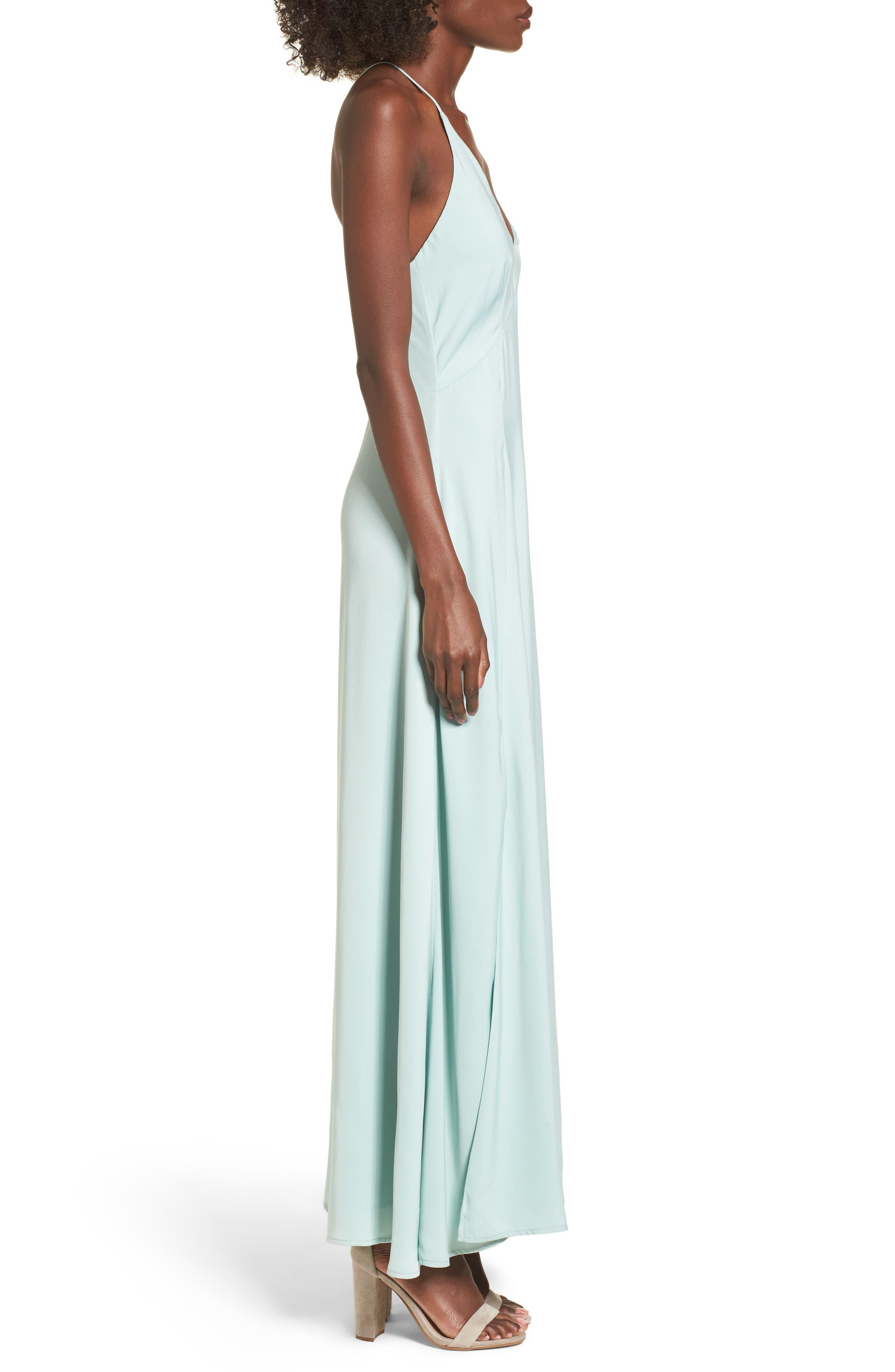 Maxi Dress,                             Alternate thumbnail 3, color,                             440