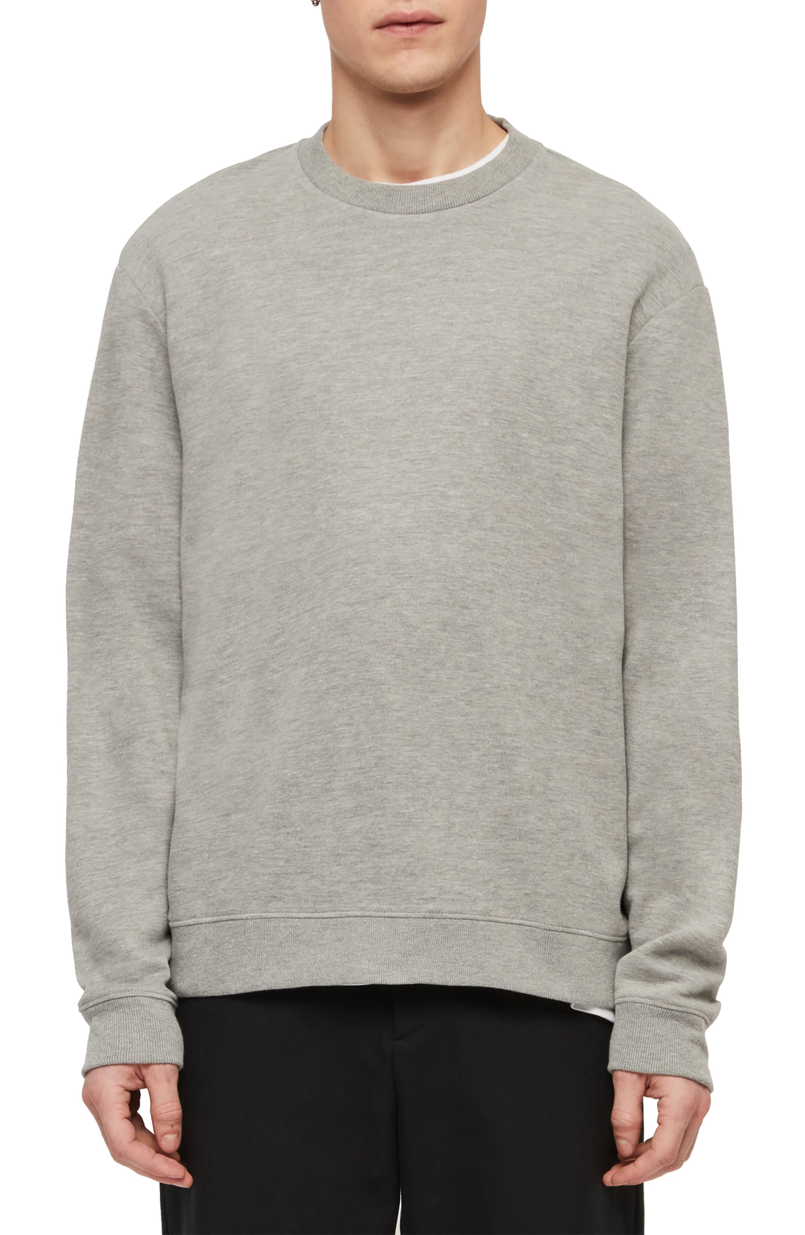 Allsaints Tops Gaiety Oversize Pullover Hoodie