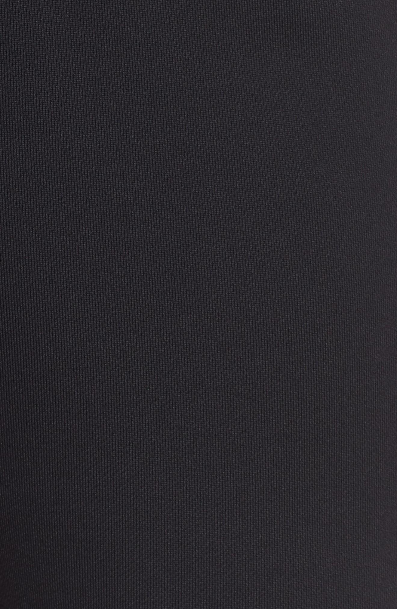 NikeLab Collection Women's Fleece Shorts,                             Alternate thumbnail 6, color,                             BLACK/ BLACK