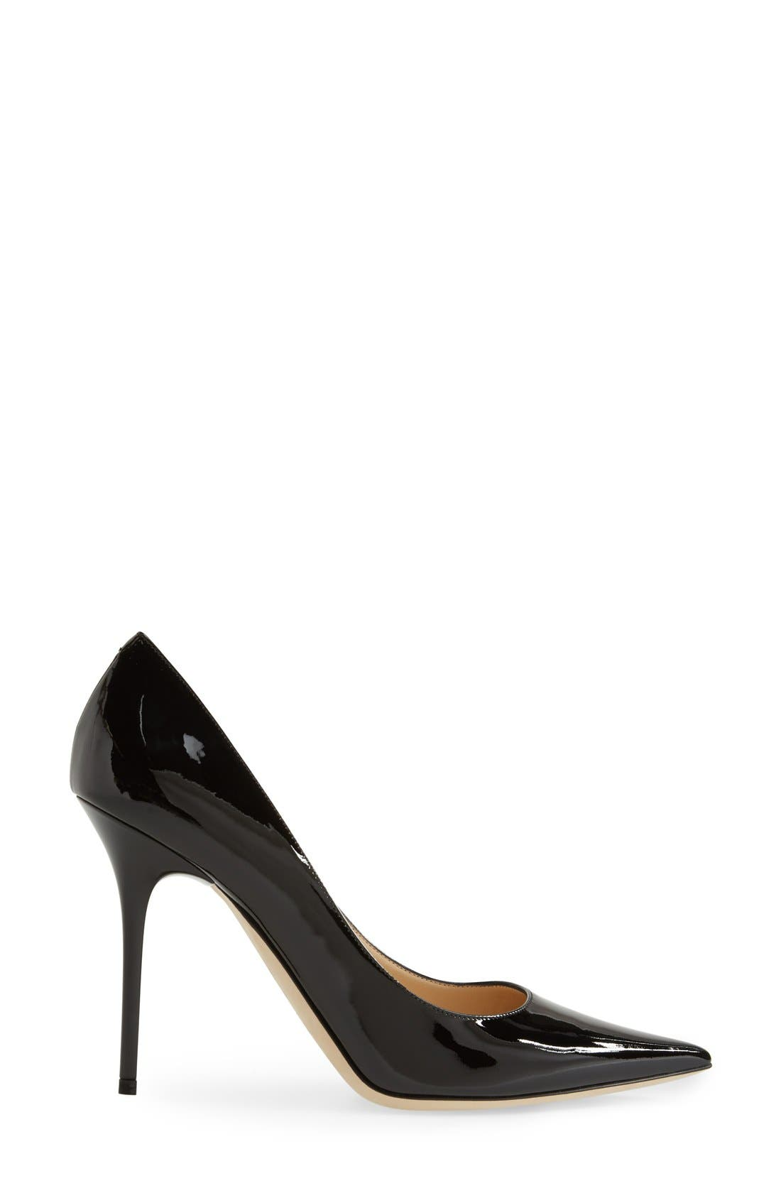 'Abel' Pointy Toe Pump,                             Alternate thumbnail 2, color,                             001