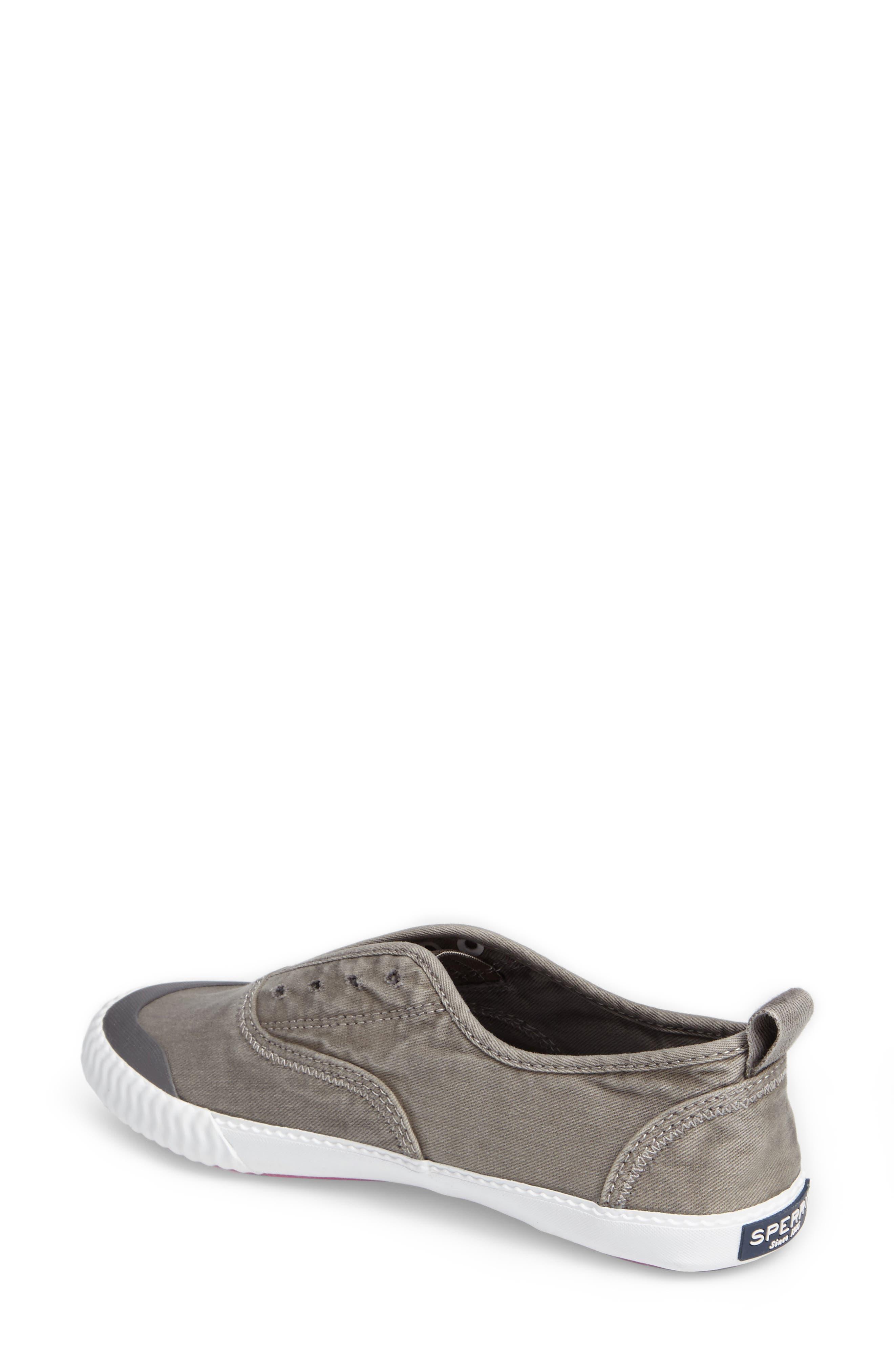 Sayel Slip-On Sneaker,                             Alternate thumbnail 2, color,                             GREY FABRIC
