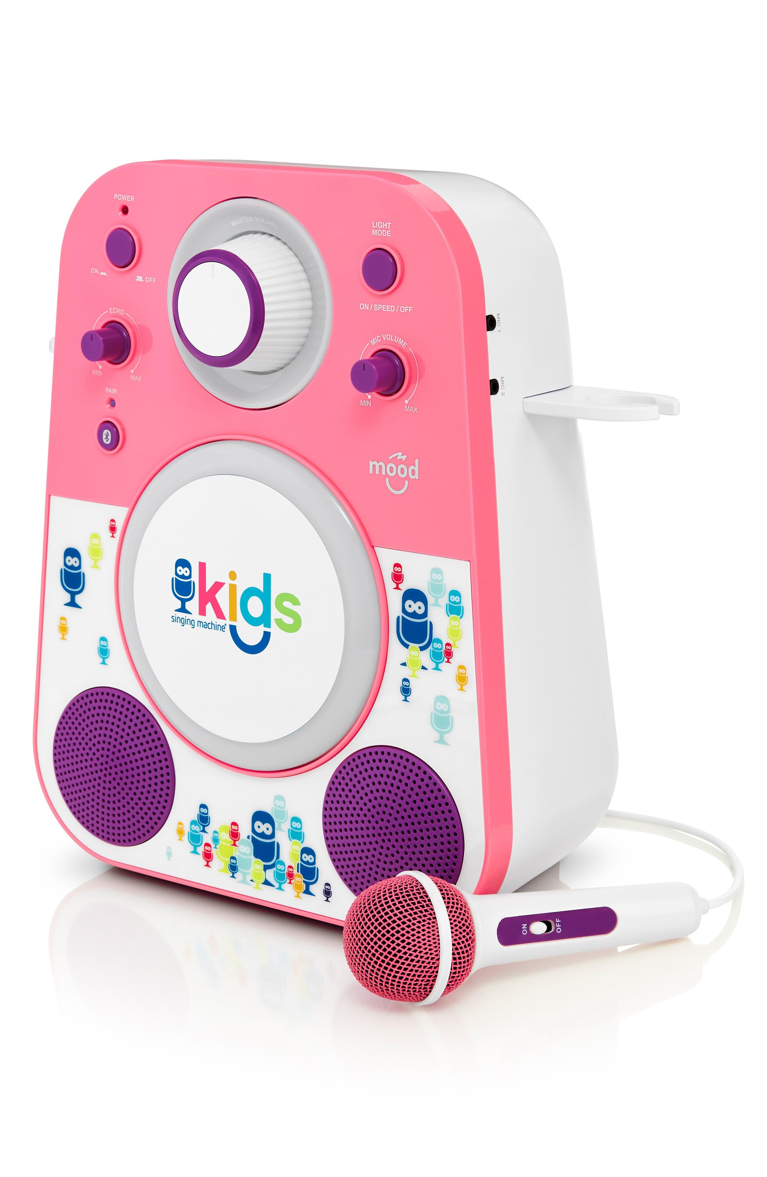 Kids Mood Karaoke System,                             Alternate thumbnail 6, color,                             PINK PURPLE