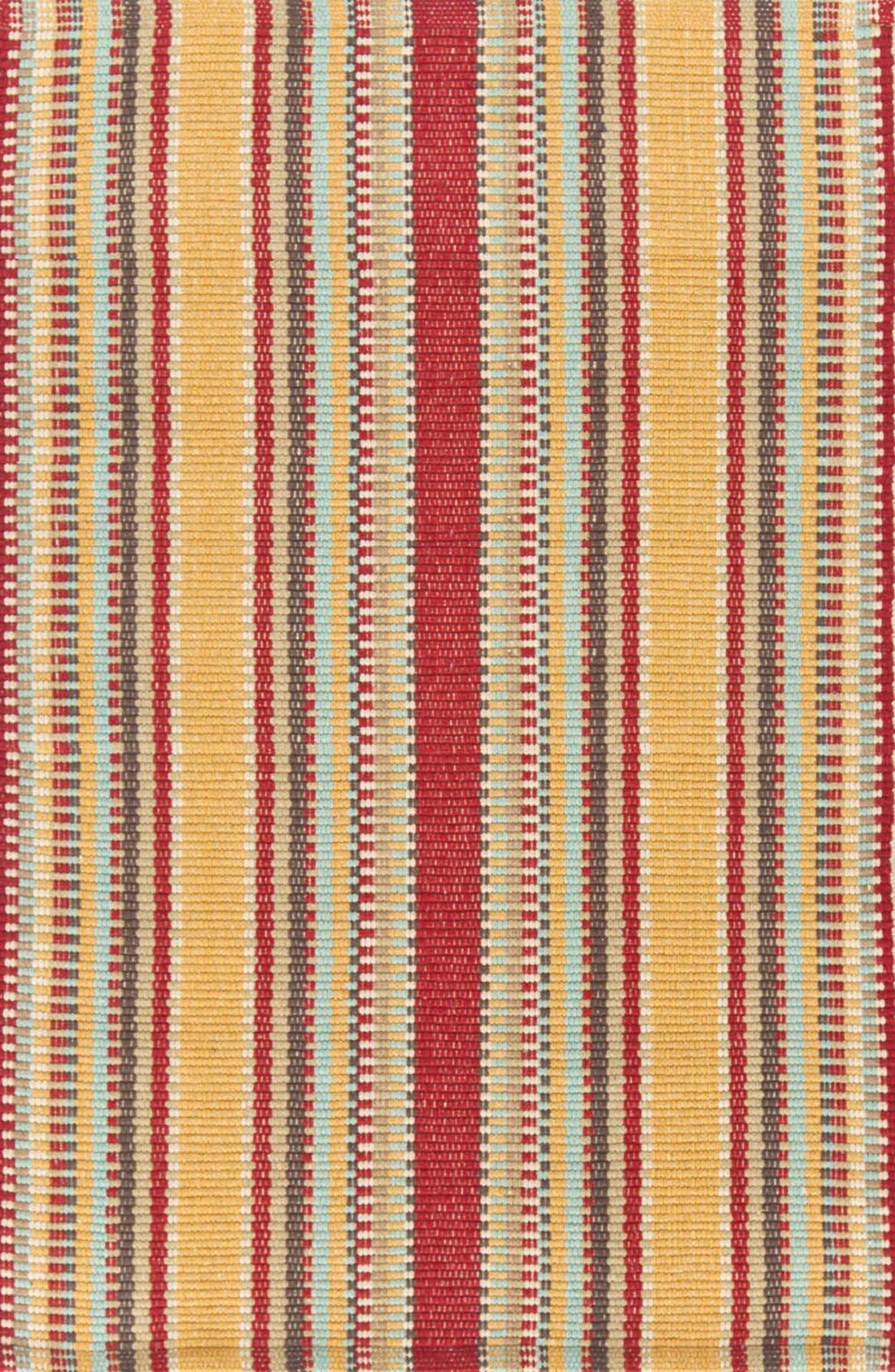 'Wyatt' Rug,                             Main thumbnail 1, color,                             RED/ GOLD MULTI