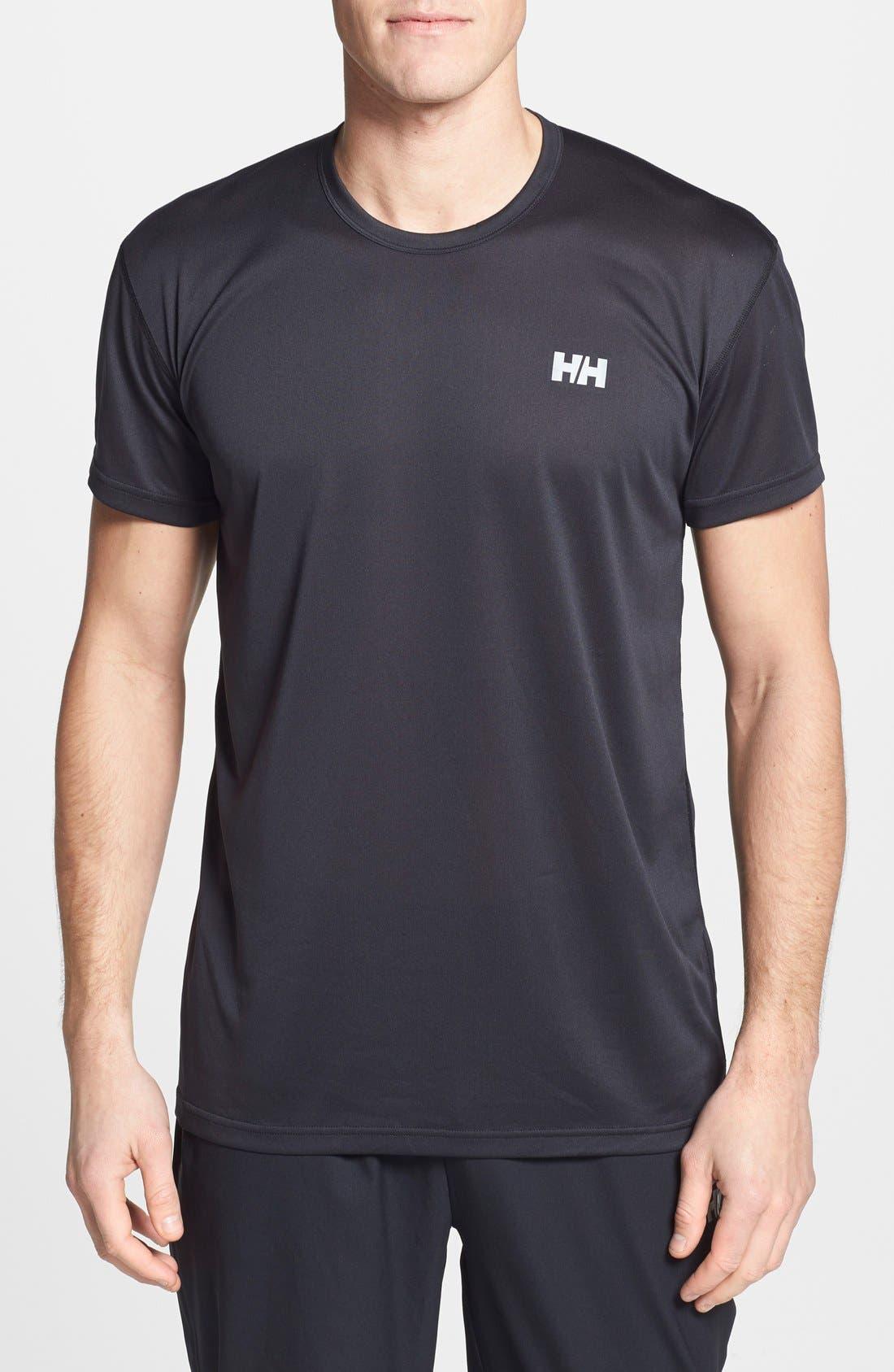 HELLY HANSEN,                             'VTR' Quick Dry T-Shirt,                             Main thumbnail 1, color,                             001