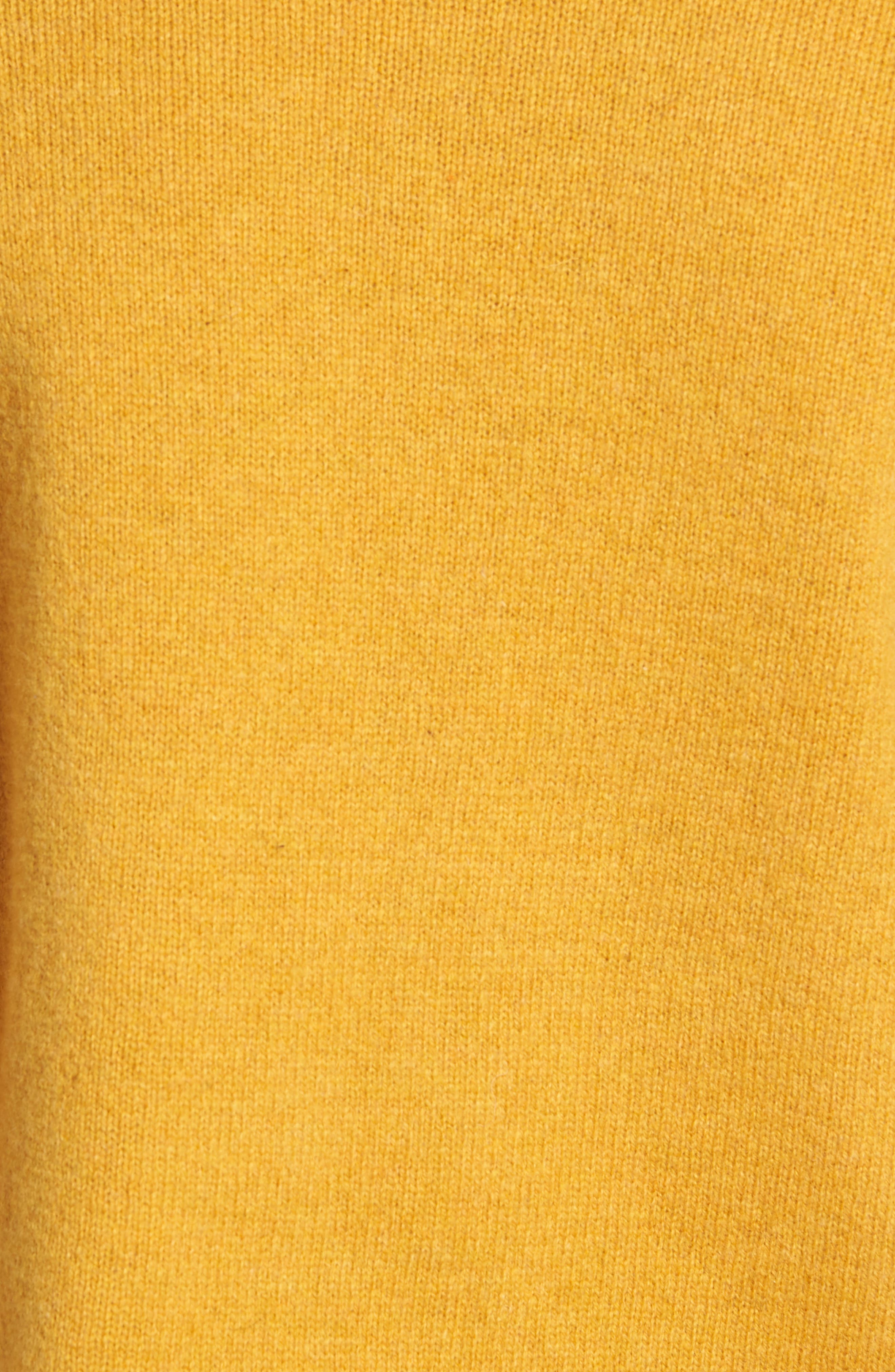 New Coban Regular Fit Wool Sweater,                             Alternate thumbnail 5, color,                             CURRY