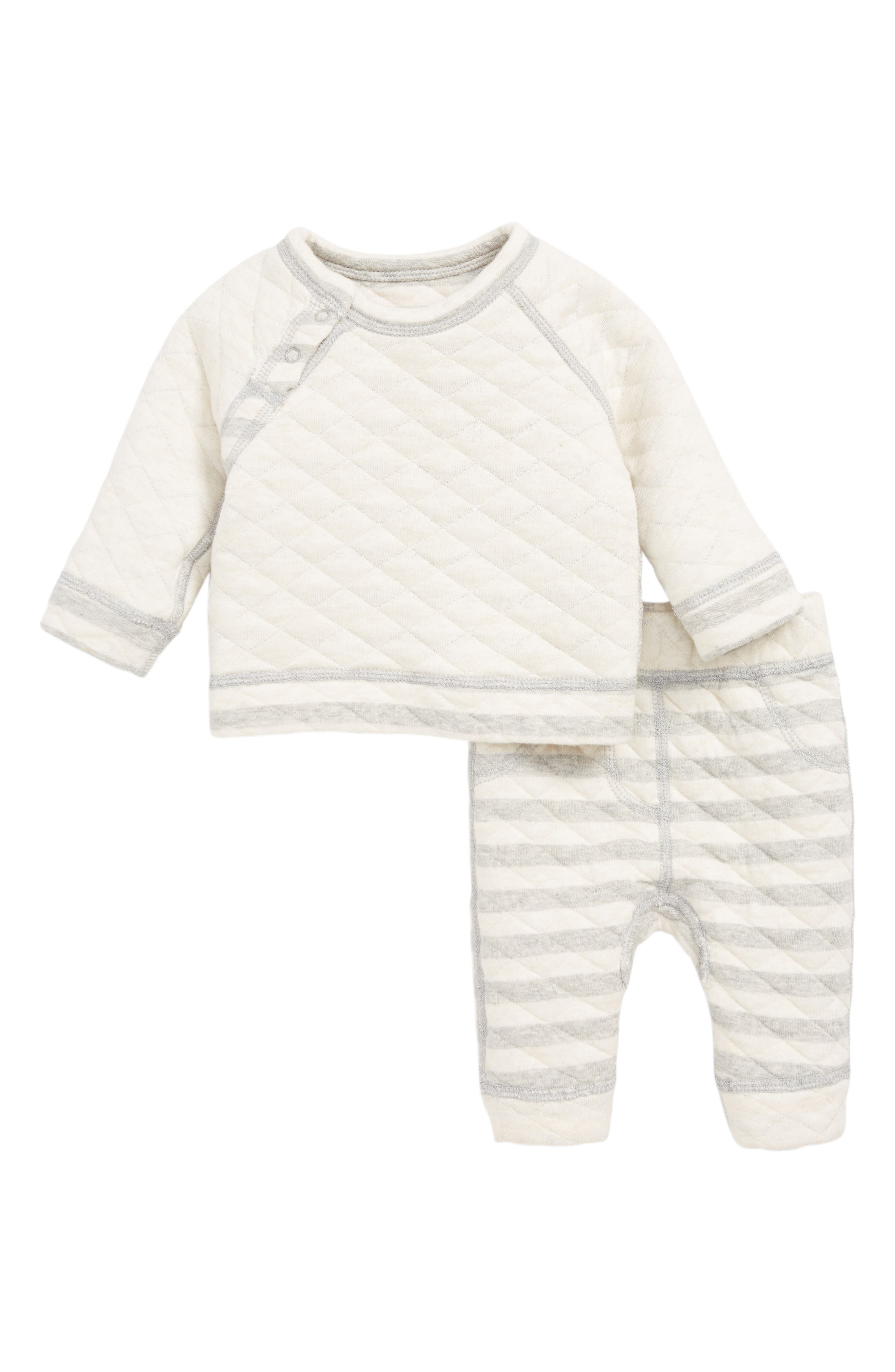 Quilted Top & Pants Set,                             Alternate thumbnail 2, color,                             050