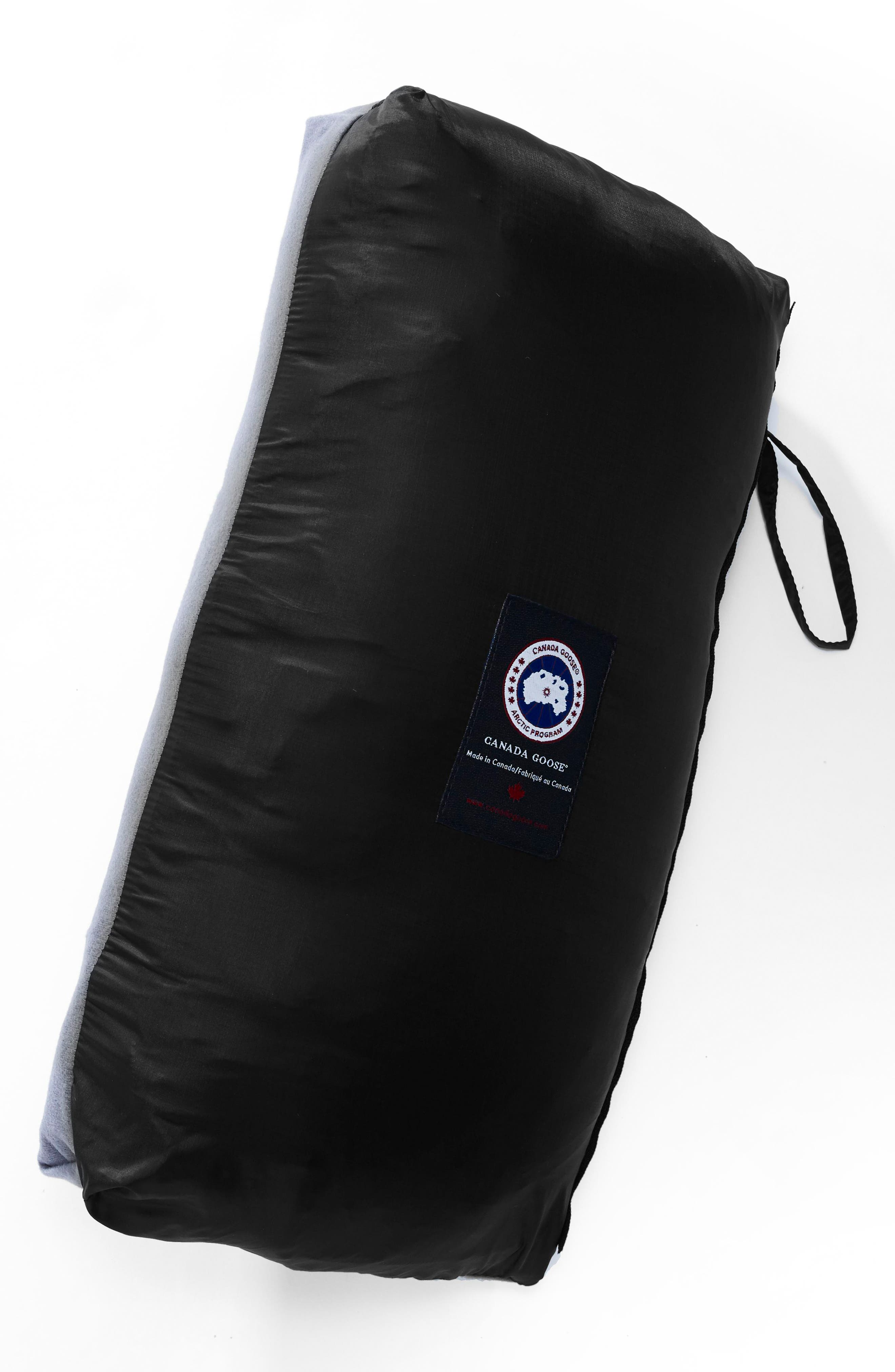 'Lodge' Slim Fit Packable Jacket,                             Alternate thumbnail 7, color,                             BLACK