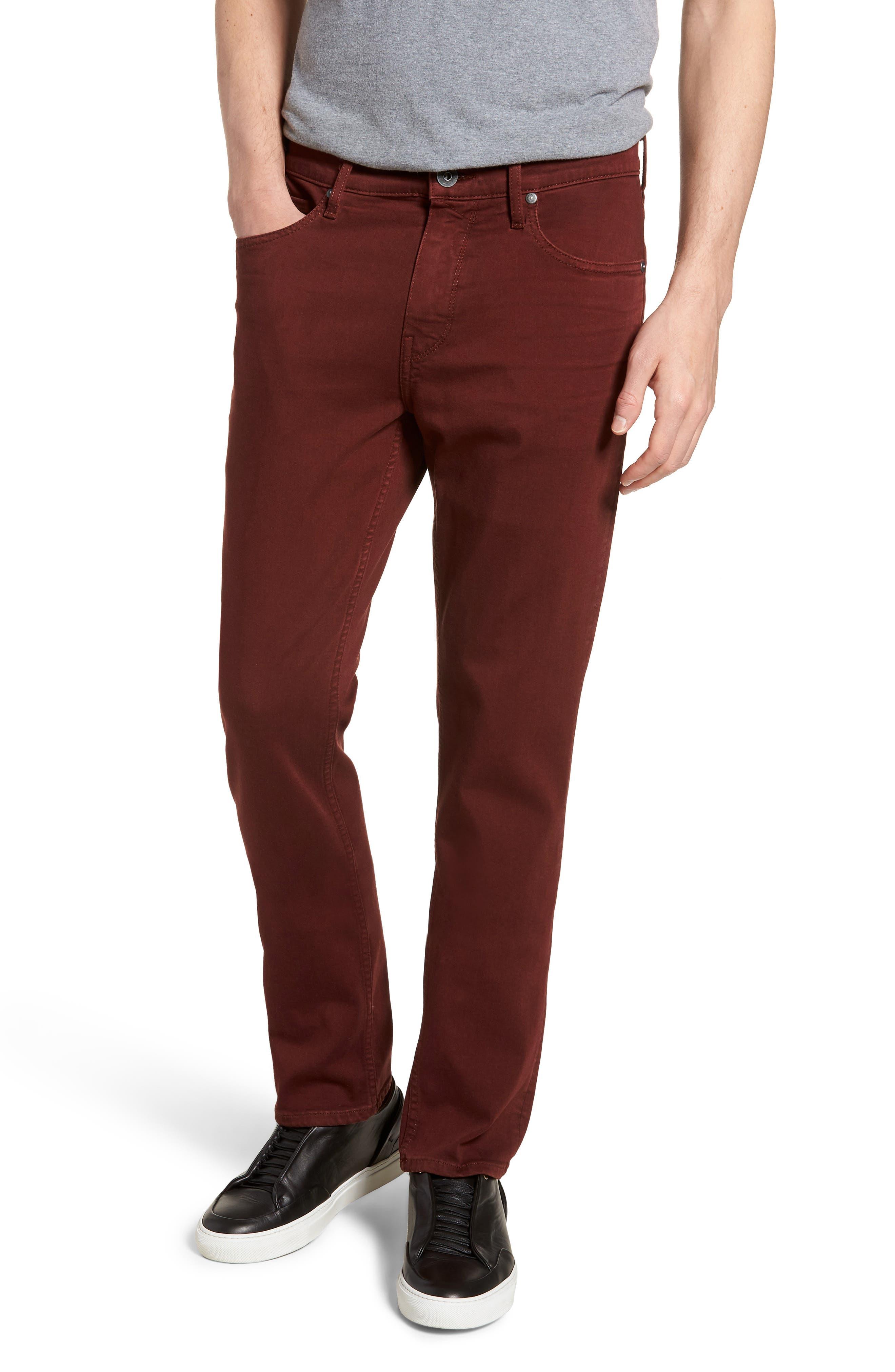 Federal Slim Straight Leg Jeans,                         Main,                         color, 600