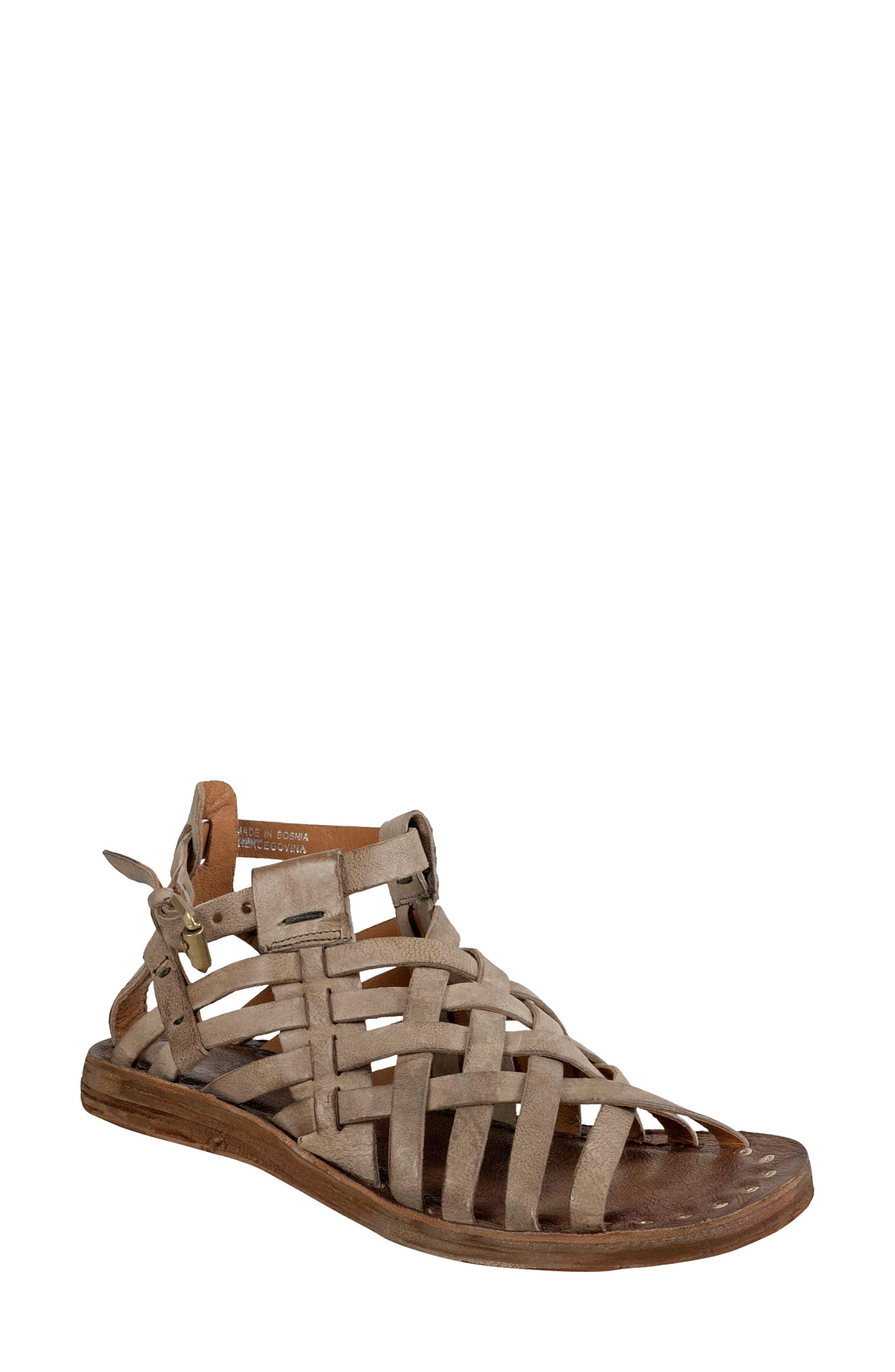 Ralston Gladiator Sandal,                         Main,                         color, TAUPE