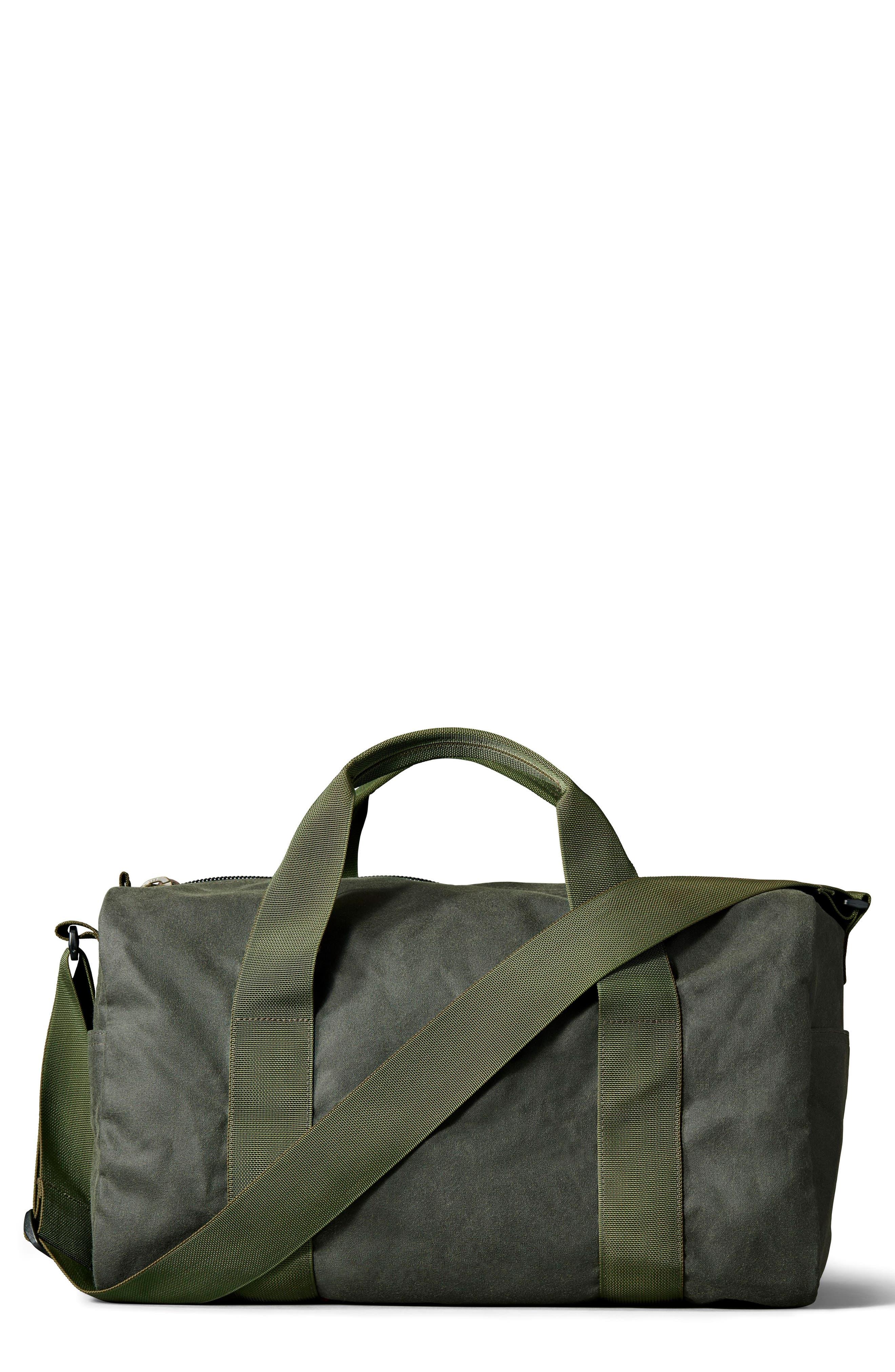FILSON Medium Field Duffel Bag, Main, color, SPRUCE